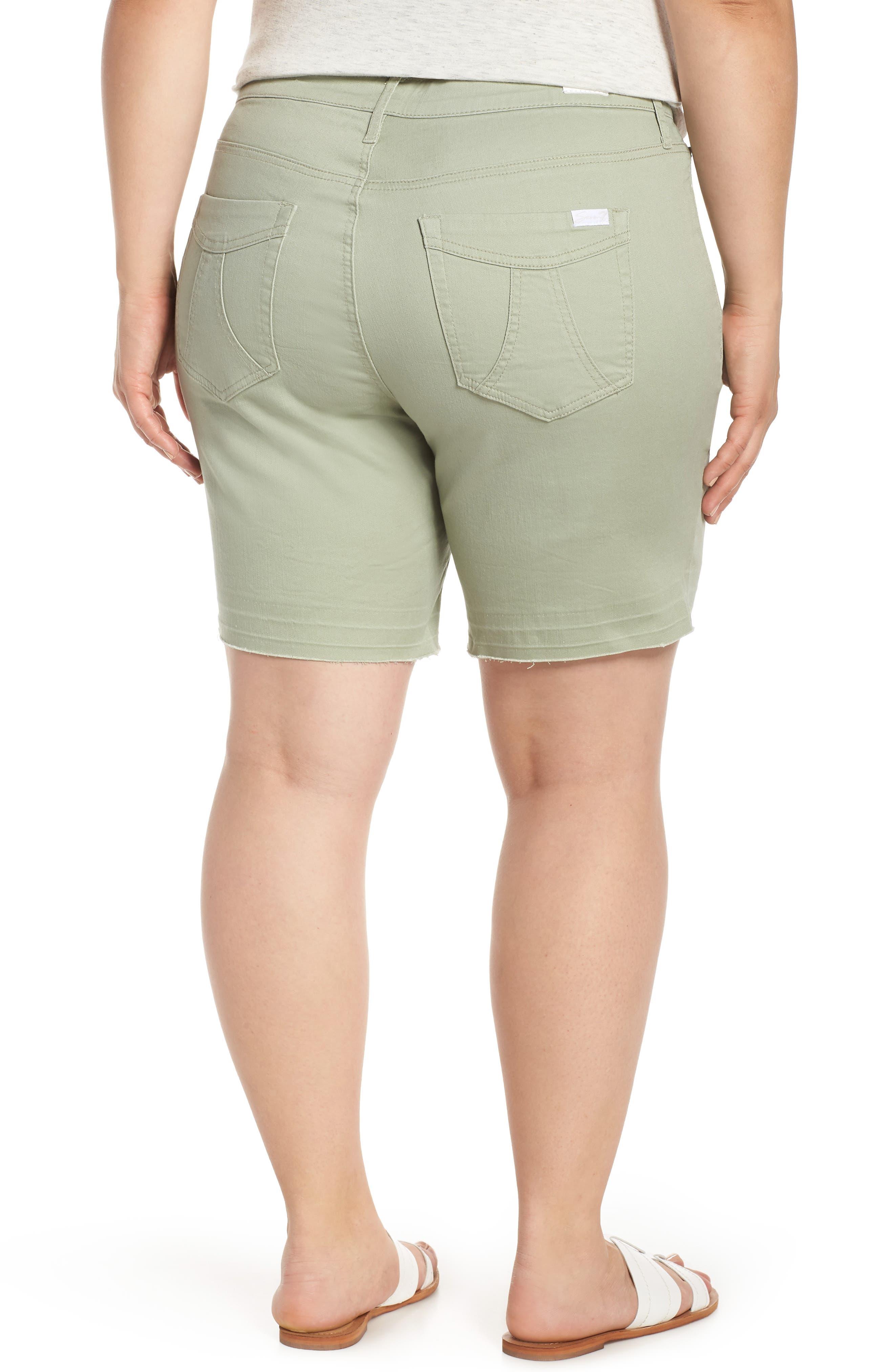 SEVEN7,                             Weekend Bermuda Shorts,                             Alternate thumbnail 2, color,                             SLATE GRAY