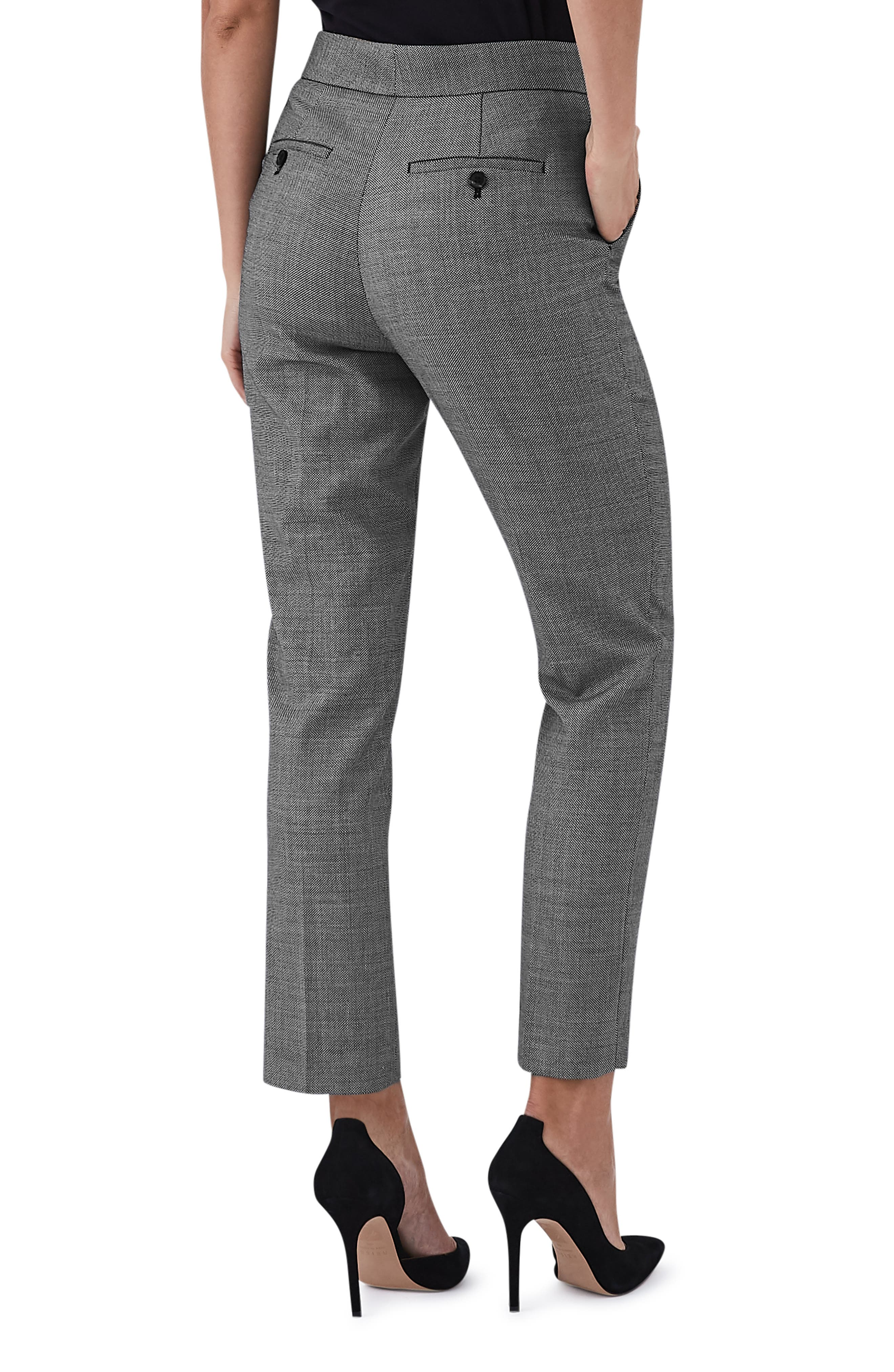 Stretch Slim Pants,                             Alternate thumbnail 2, color,                             GREY