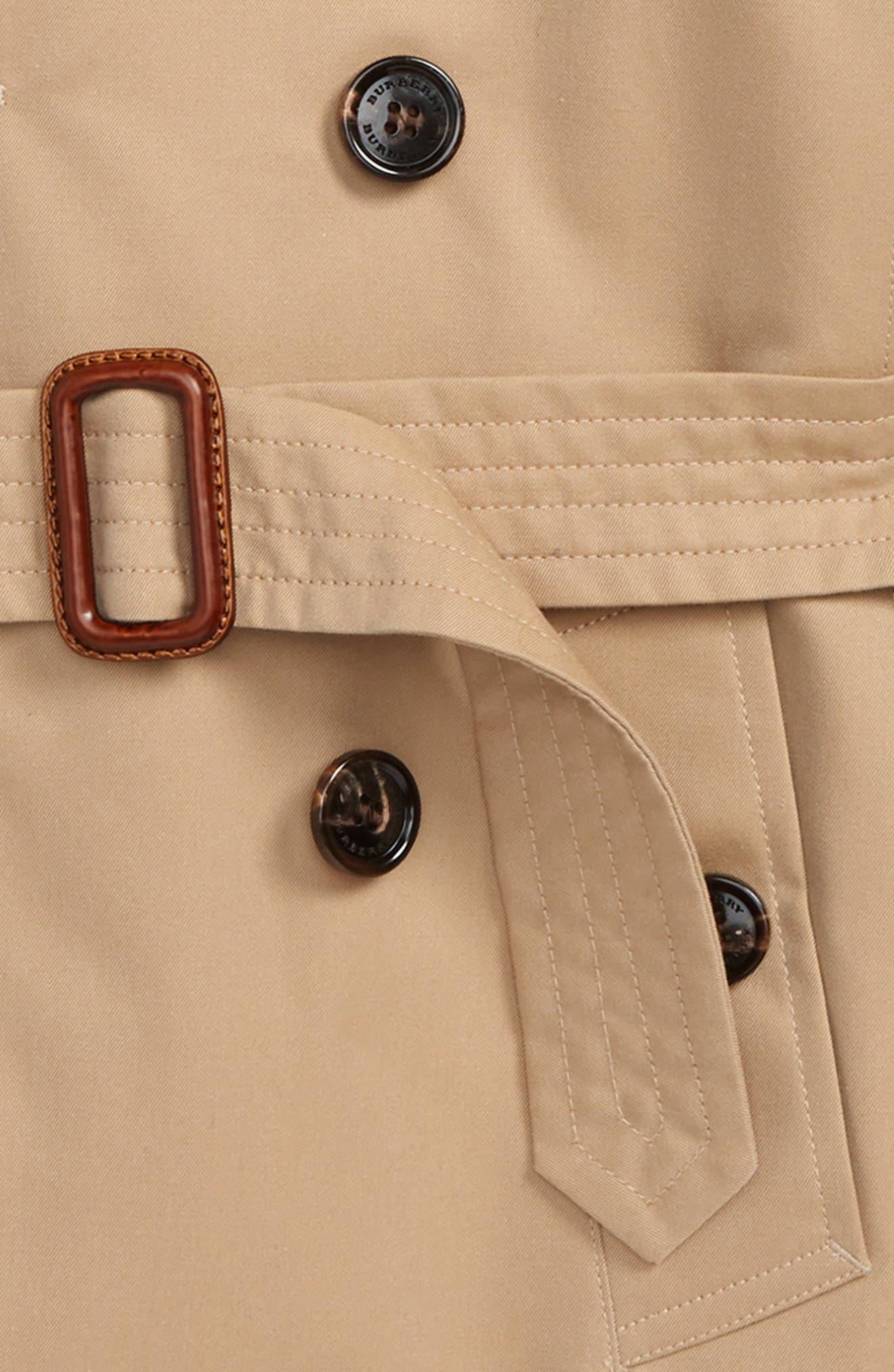 Mayfair Trench Coat,                             Alternate thumbnail 2, color,                             HONEY
