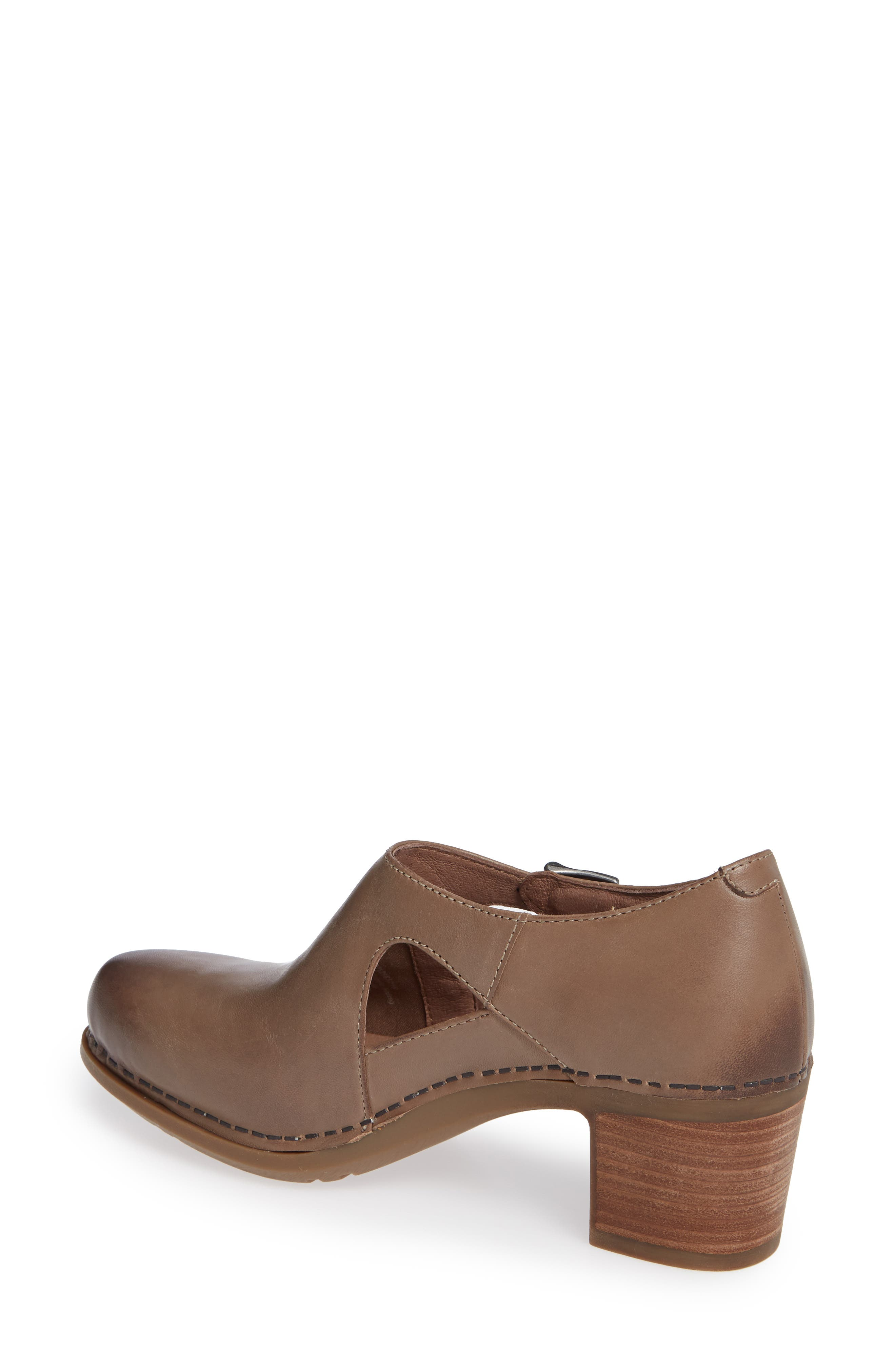 Hollie Bootie,                             Alternate thumbnail 2, color,                             TAUPE BURNISHED LEATHER