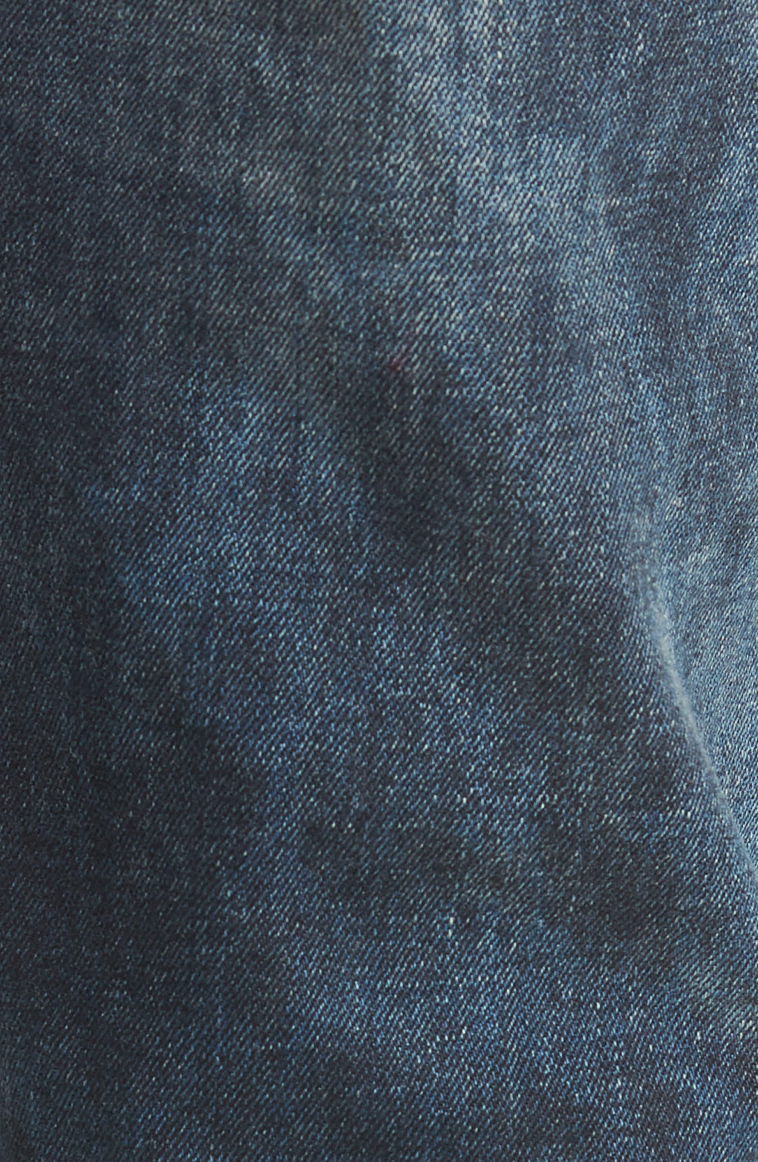 Blinder Biker Skinny Fit Jeans,                             Alternate thumbnail 5, color,                             MARTINO