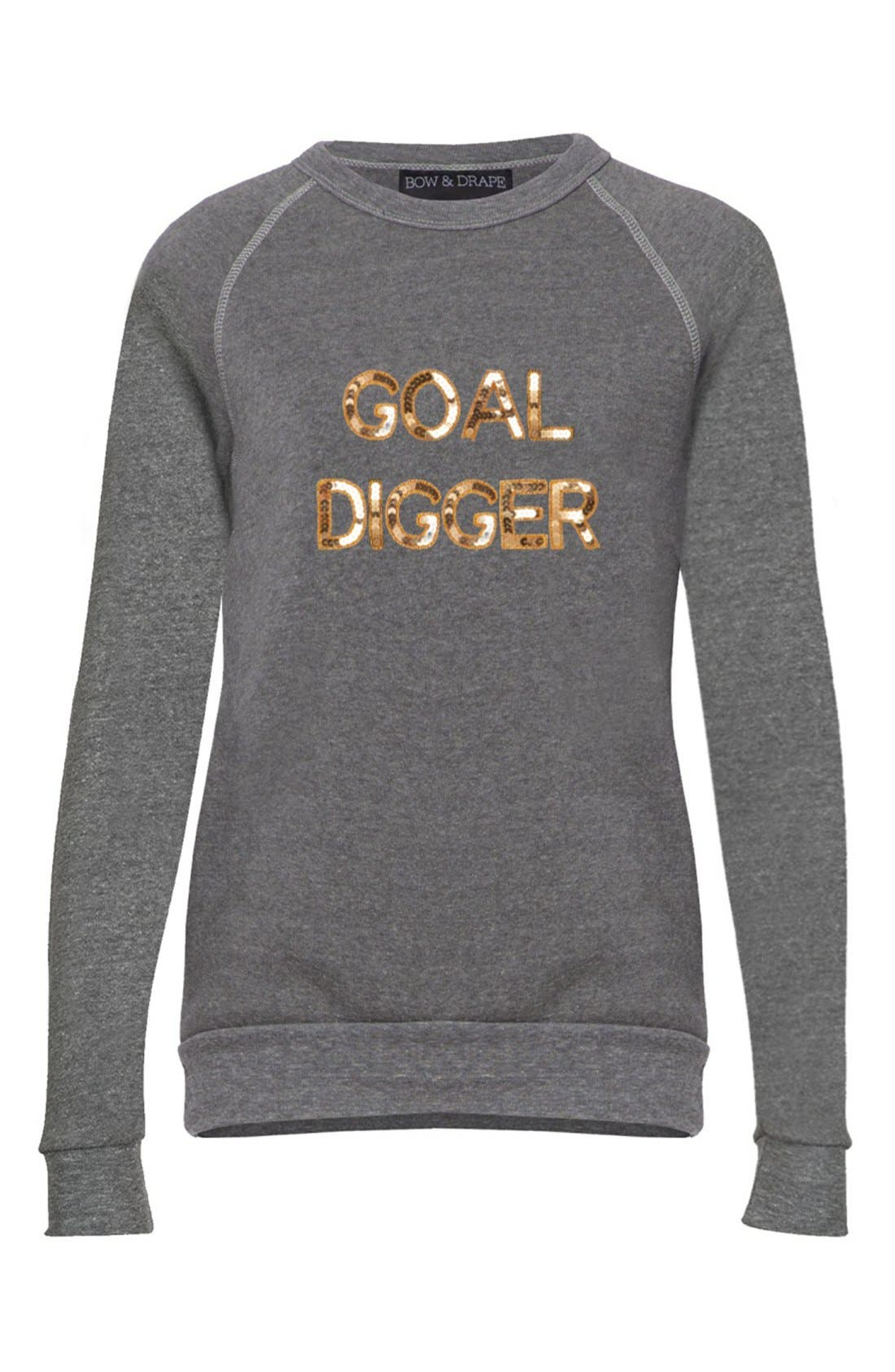 'Goal Digger' Sweatshirt,                             Alternate thumbnail 3, color,                             021