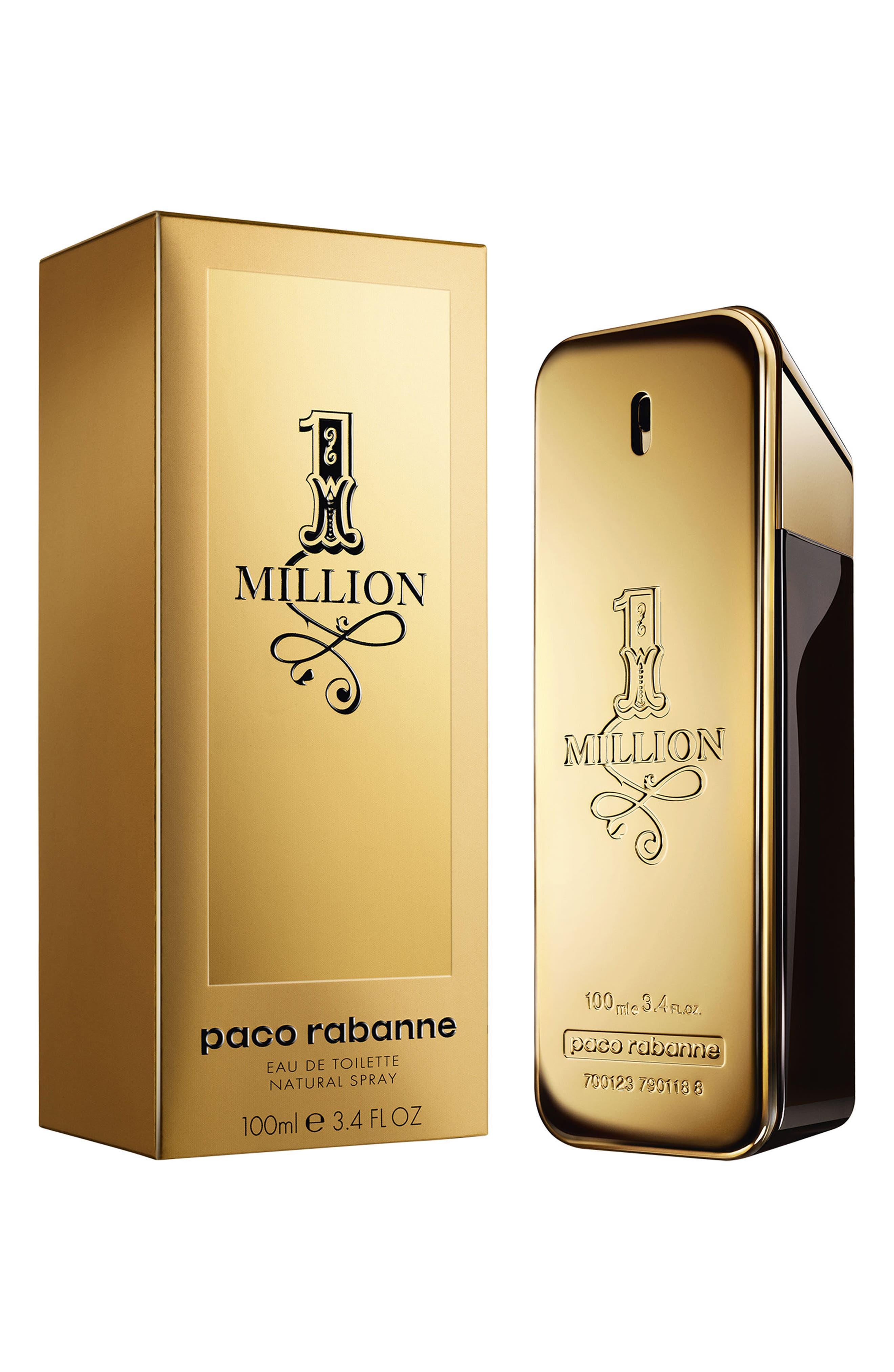 PACO RABANNE,                             1 Million Eau de Toilette,                             Alternate thumbnail 2, color,                             NO COLOR