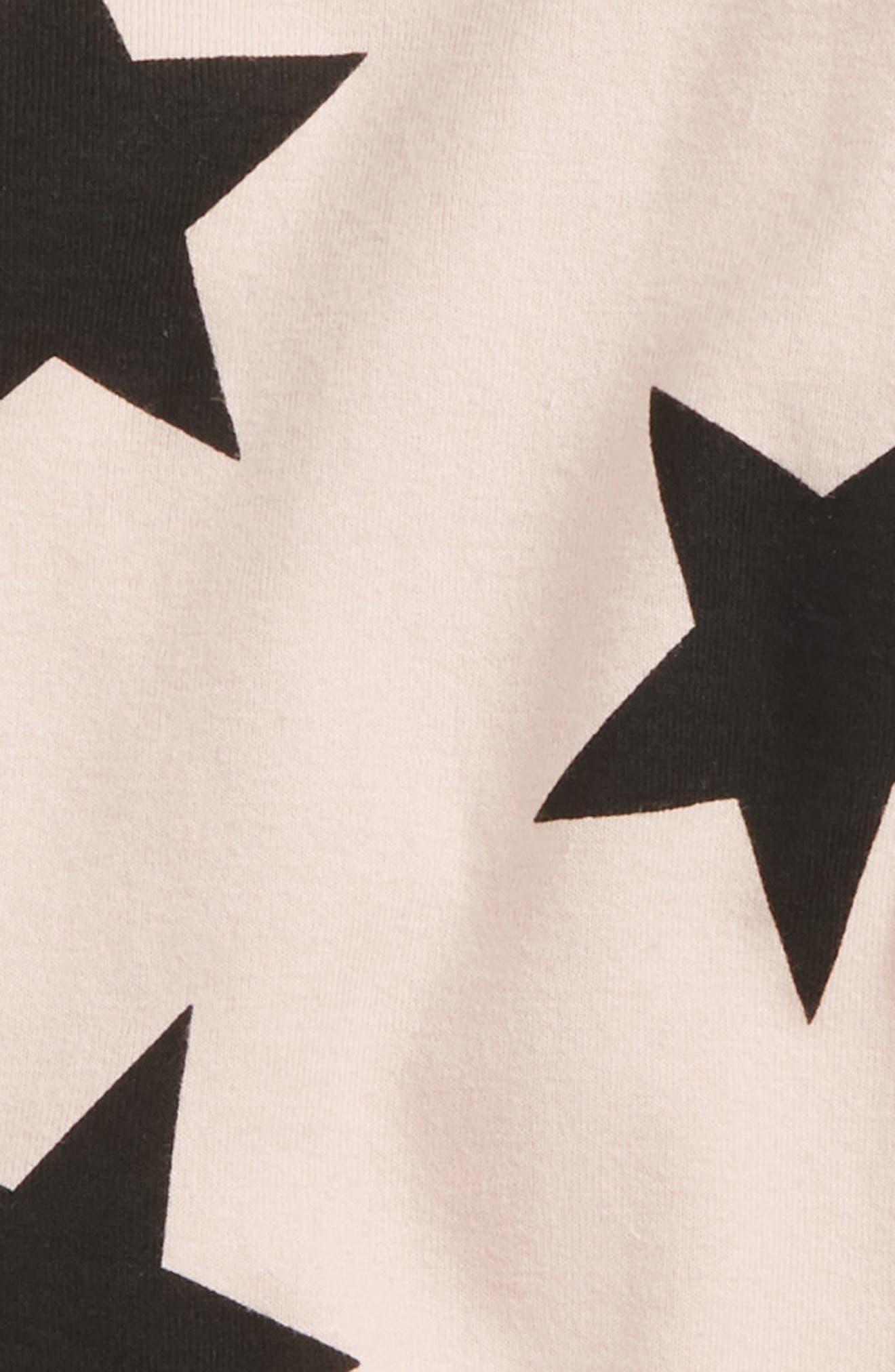 Star Print Footie,                             Alternate thumbnail 2, color,                             680