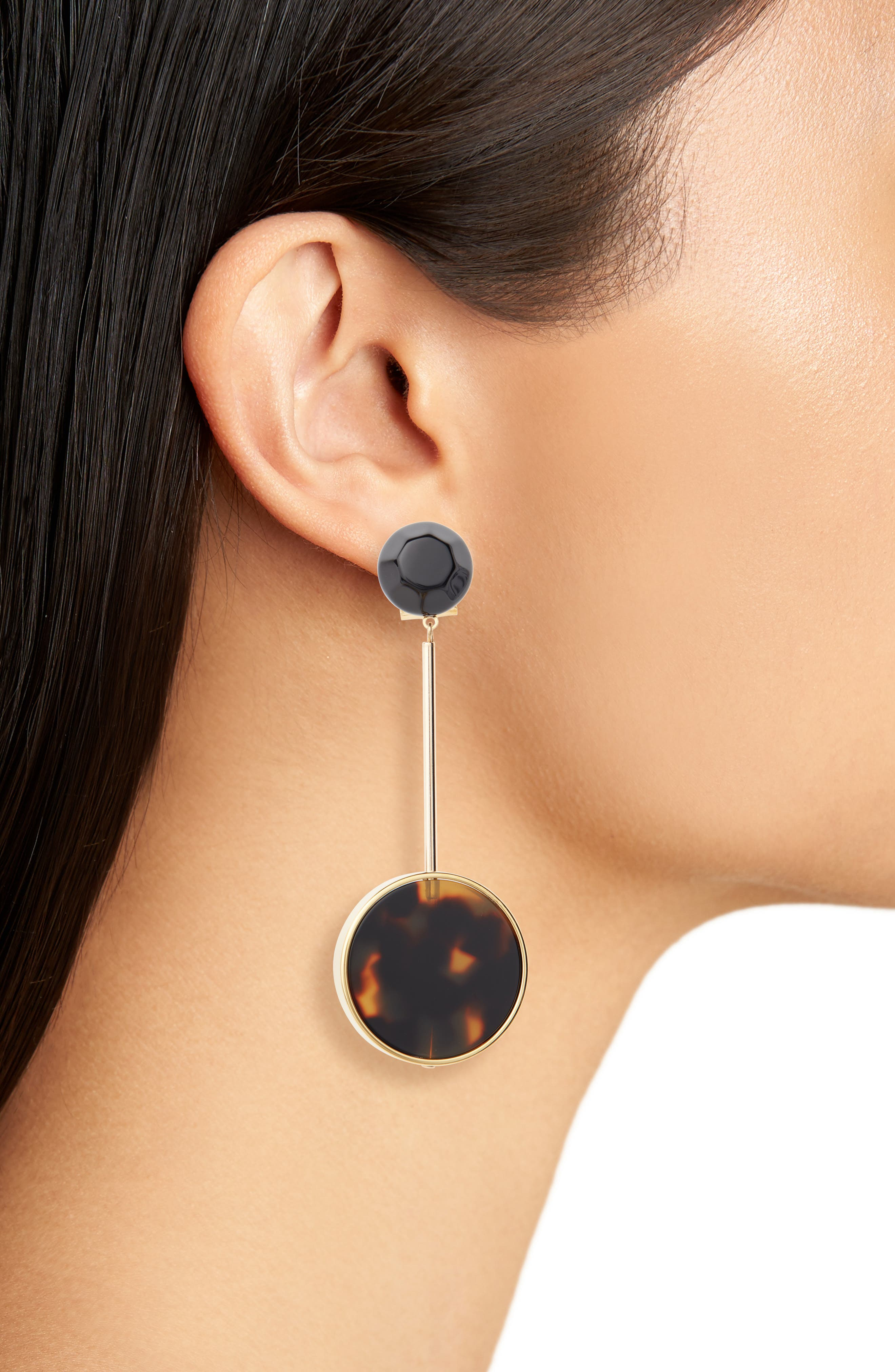Lhasa Drop Earrings,                             Alternate thumbnail 2, color,                             001