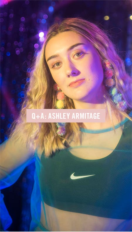 Nordstrom x Nike: interview with photographer Ashley Armitage.