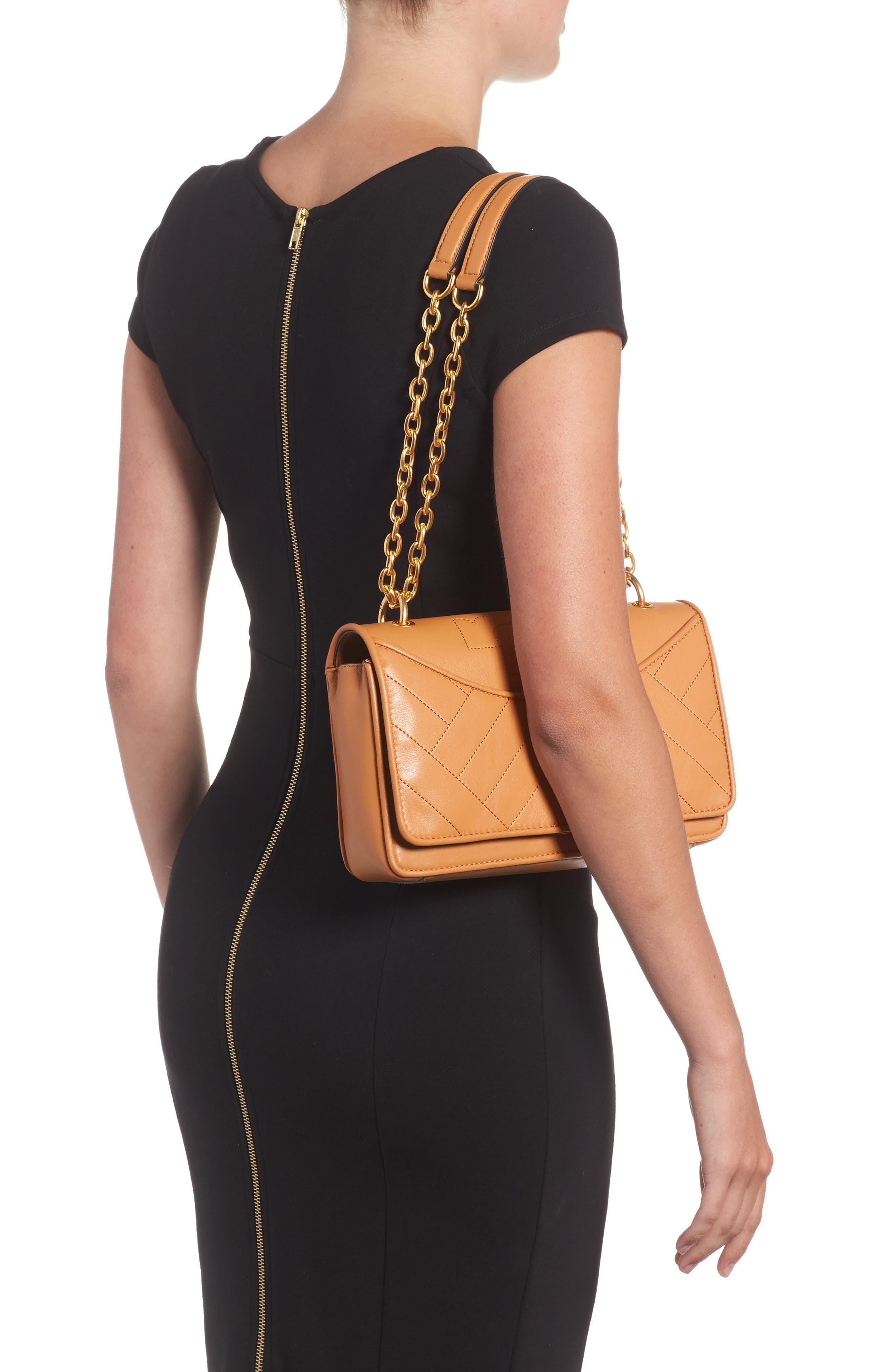 Alexa Leather Shoulder Bag,                             Alternate thumbnail 8, color,