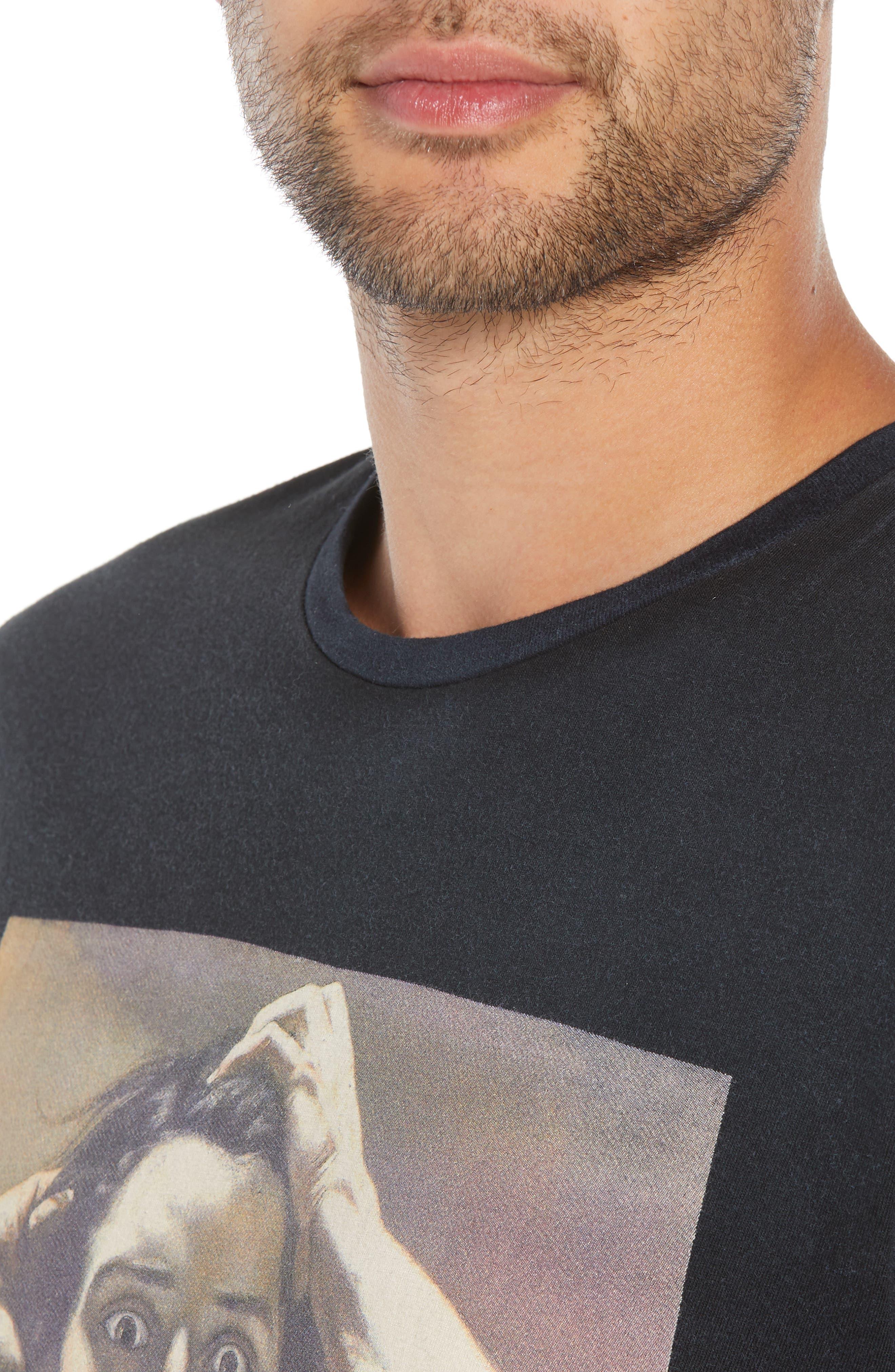 ELEVENPARIS,                             Renaissance Graphic T-Shirt,                             Alternate thumbnail 4, color,                             002