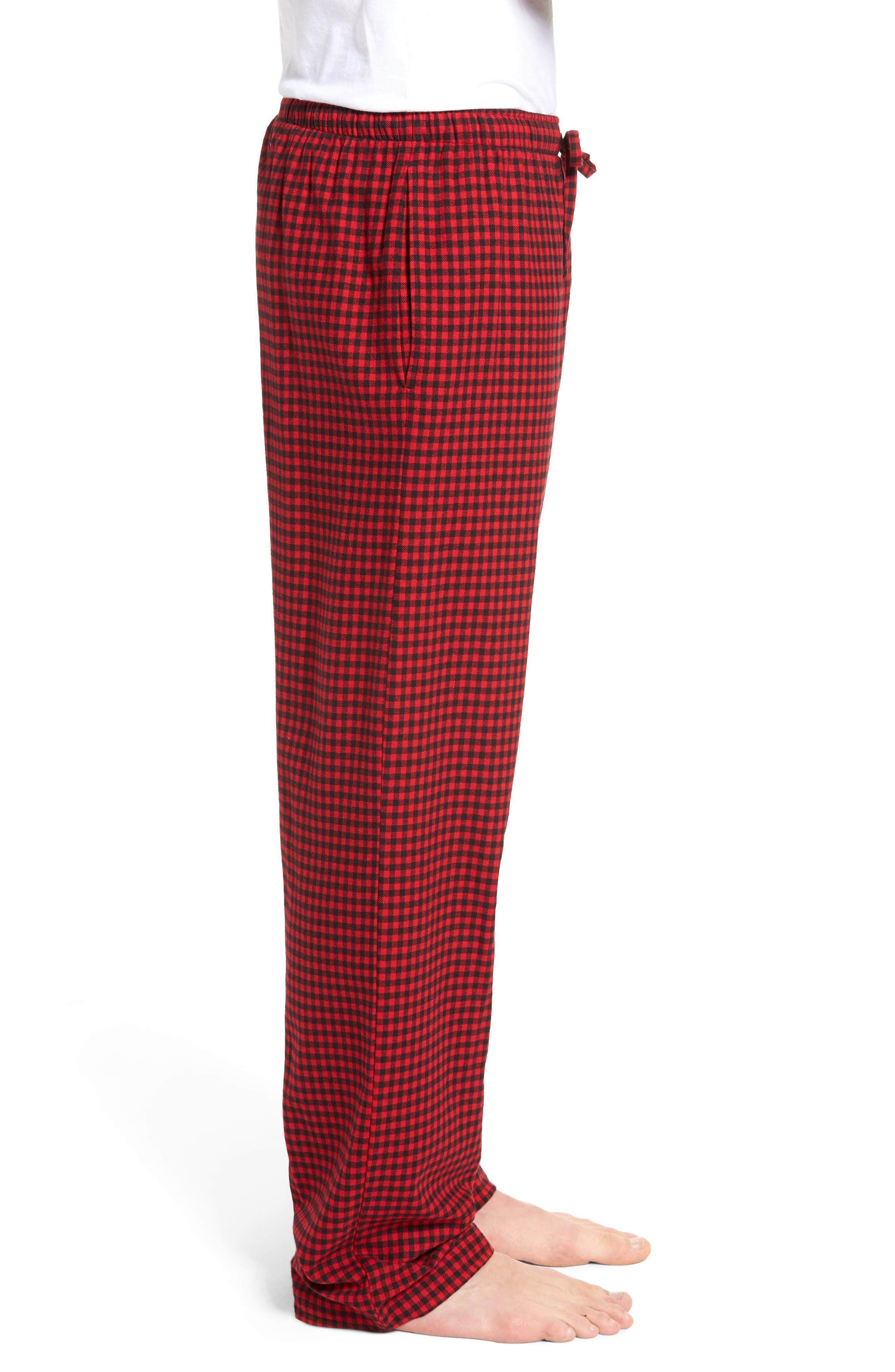 Flannel Pajama Pants,                             Alternate thumbnail 38, color,