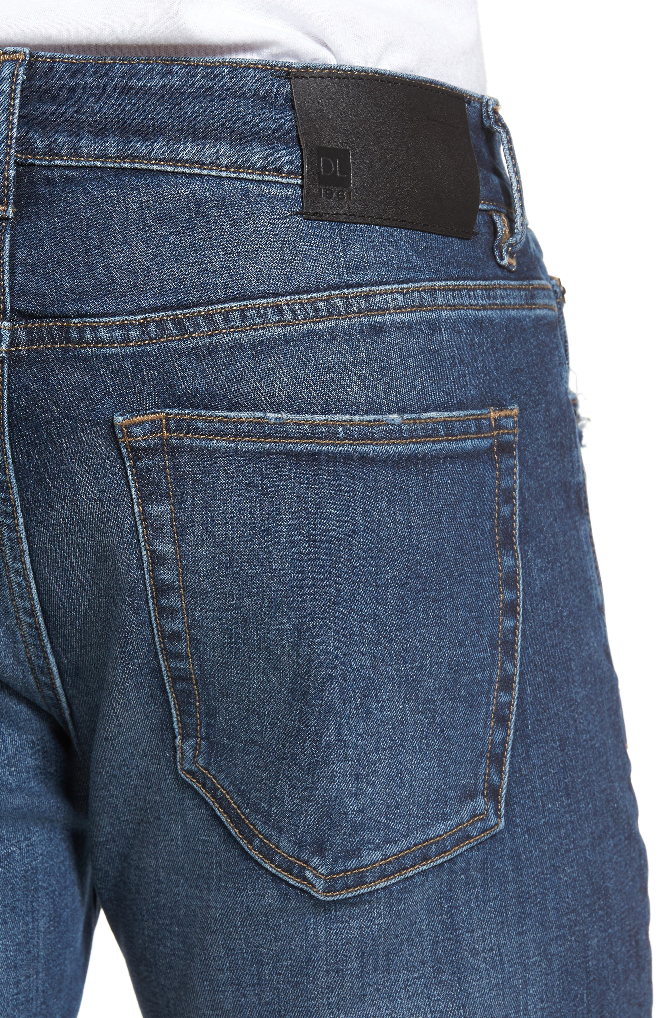 Nick Slim Fit Jeans,                             Alternate thumbnail 4, color,                             406