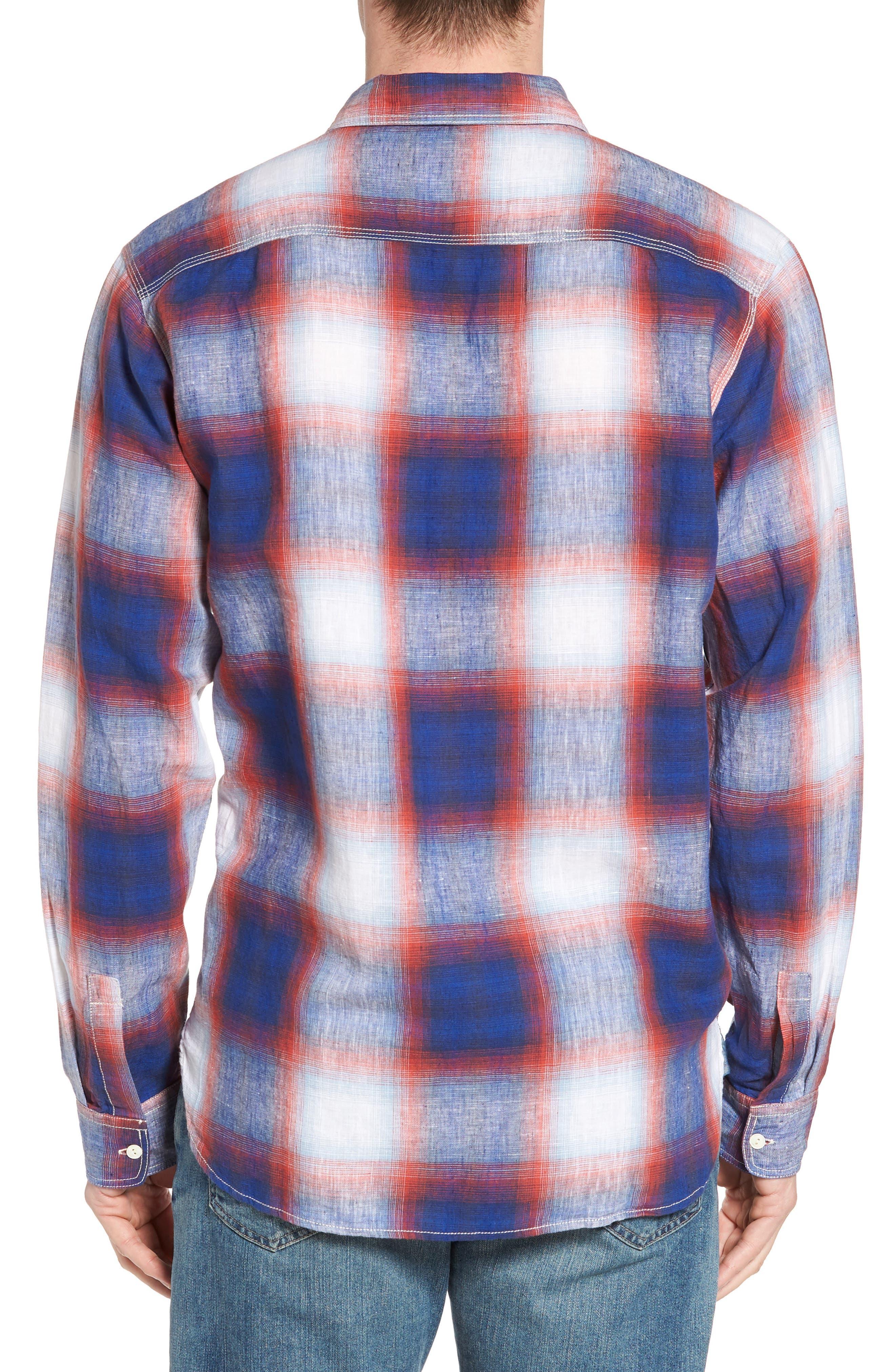 TRUE GRIT,                             Salt Creek Classic Fit Sport Shirt,                             Alternate thumbnail 2, color,                             600