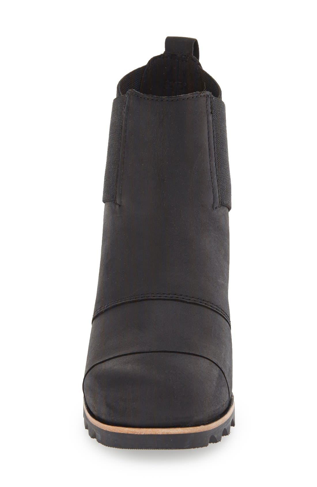 'Addington' Waterproof Chelsea Boot,                             Alternate thumbnail 3, color,                             010