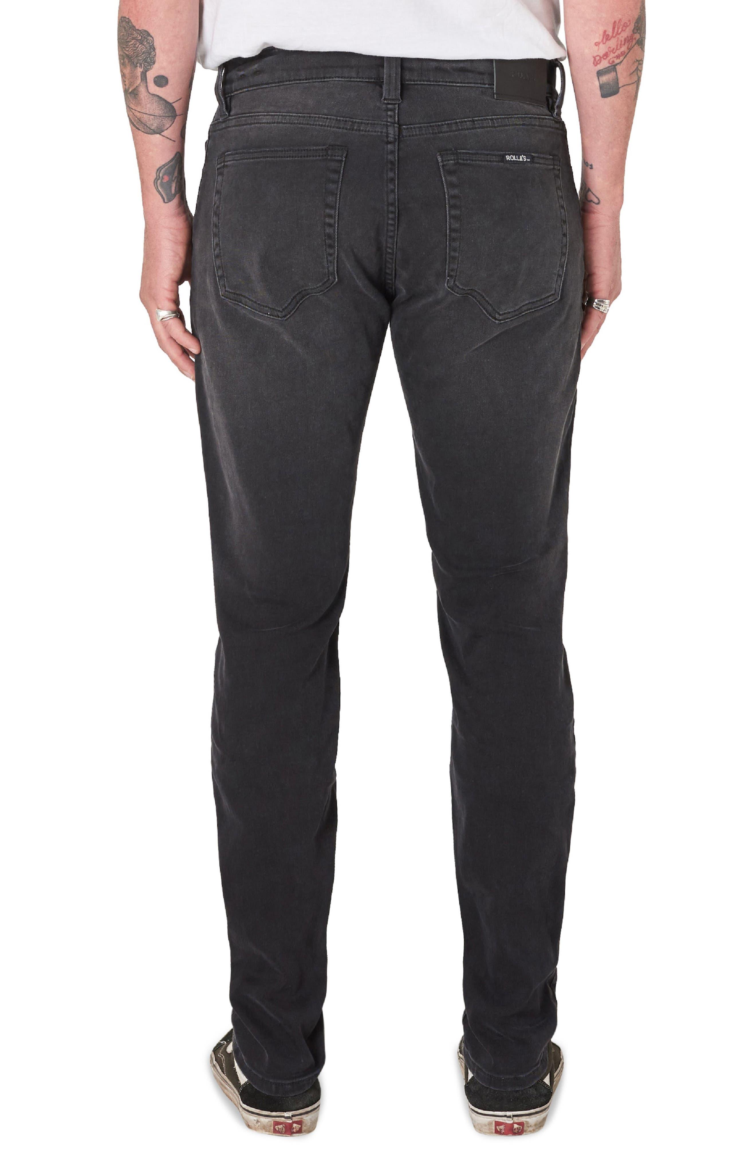 Stinger Skinny Fit Jeans,                             Alternate thumbnail 2, color,                             BLACK CAT
