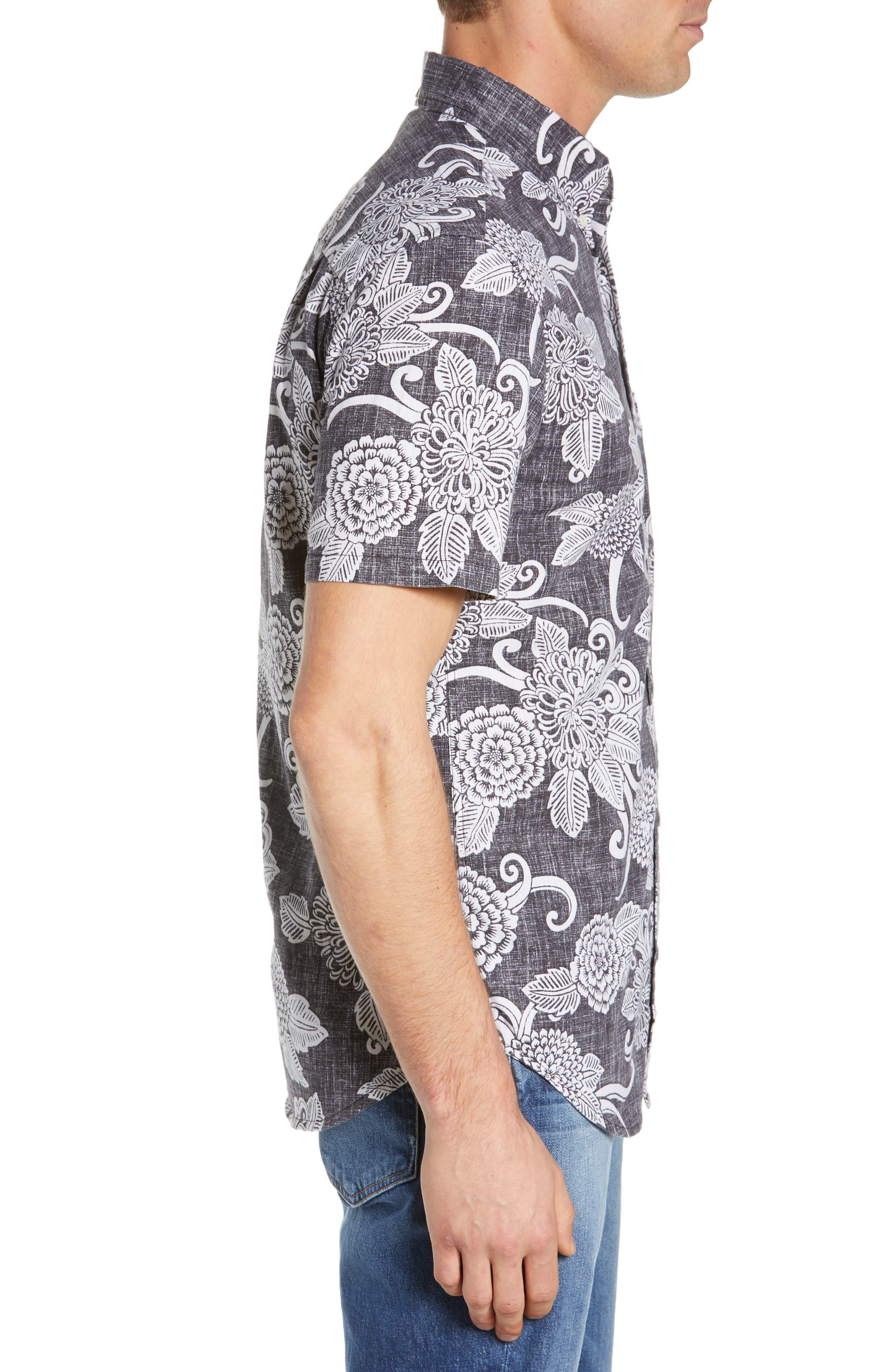 Opti Mums Regular Fit Sport Shirt,                             Alternate thumbnail 4, color,                             BLACK
