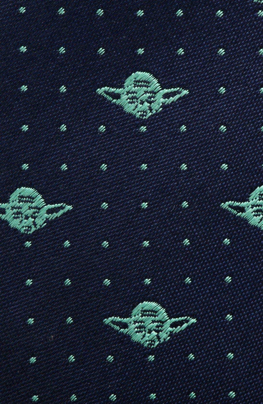 'Yoda' Silk Tie,                             Alternate thumbnail 2, color,                             BLUE