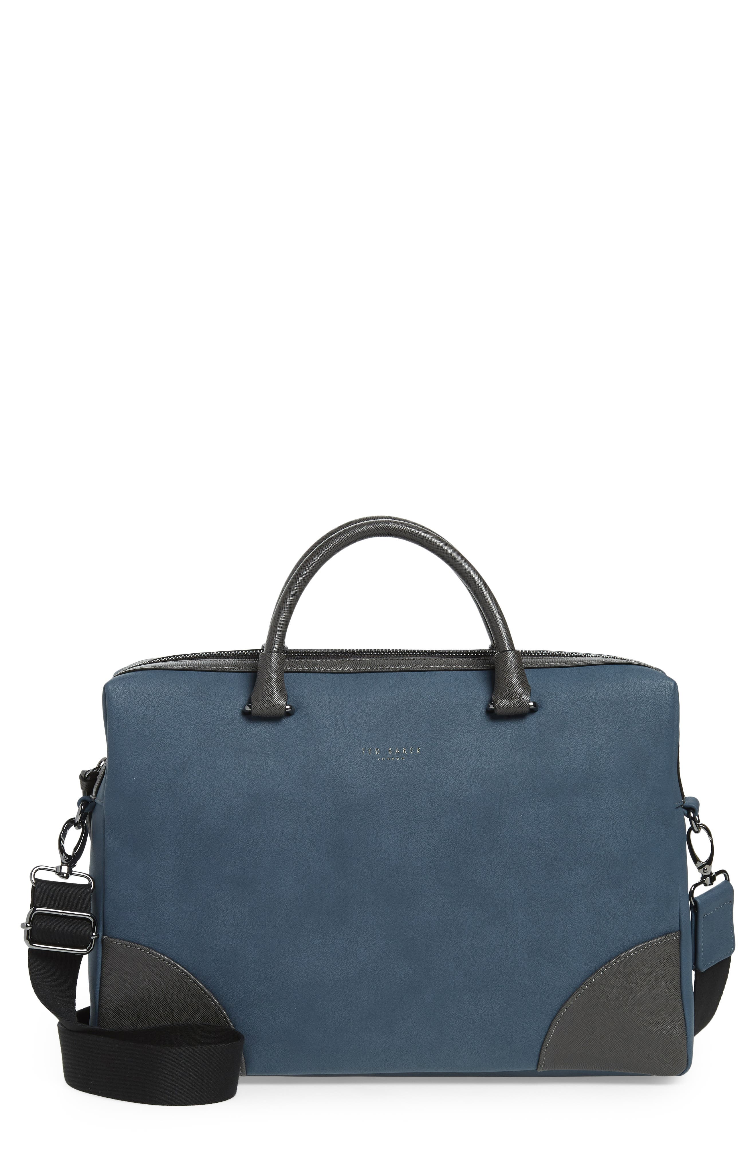 Dayof Briefcase,                             Main thumbnail 1, color,                             BLUE