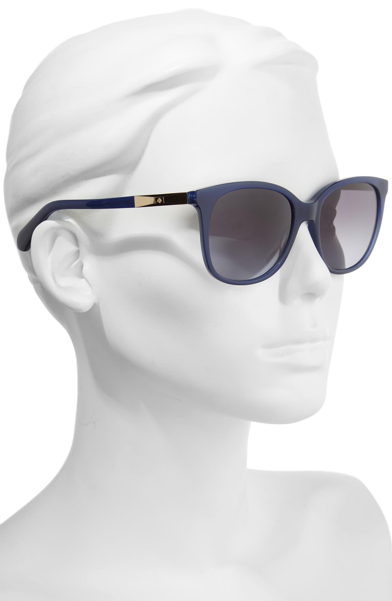 julieanna 54mm polarized sunglasses,                             Alternate thumbnail 5, color,