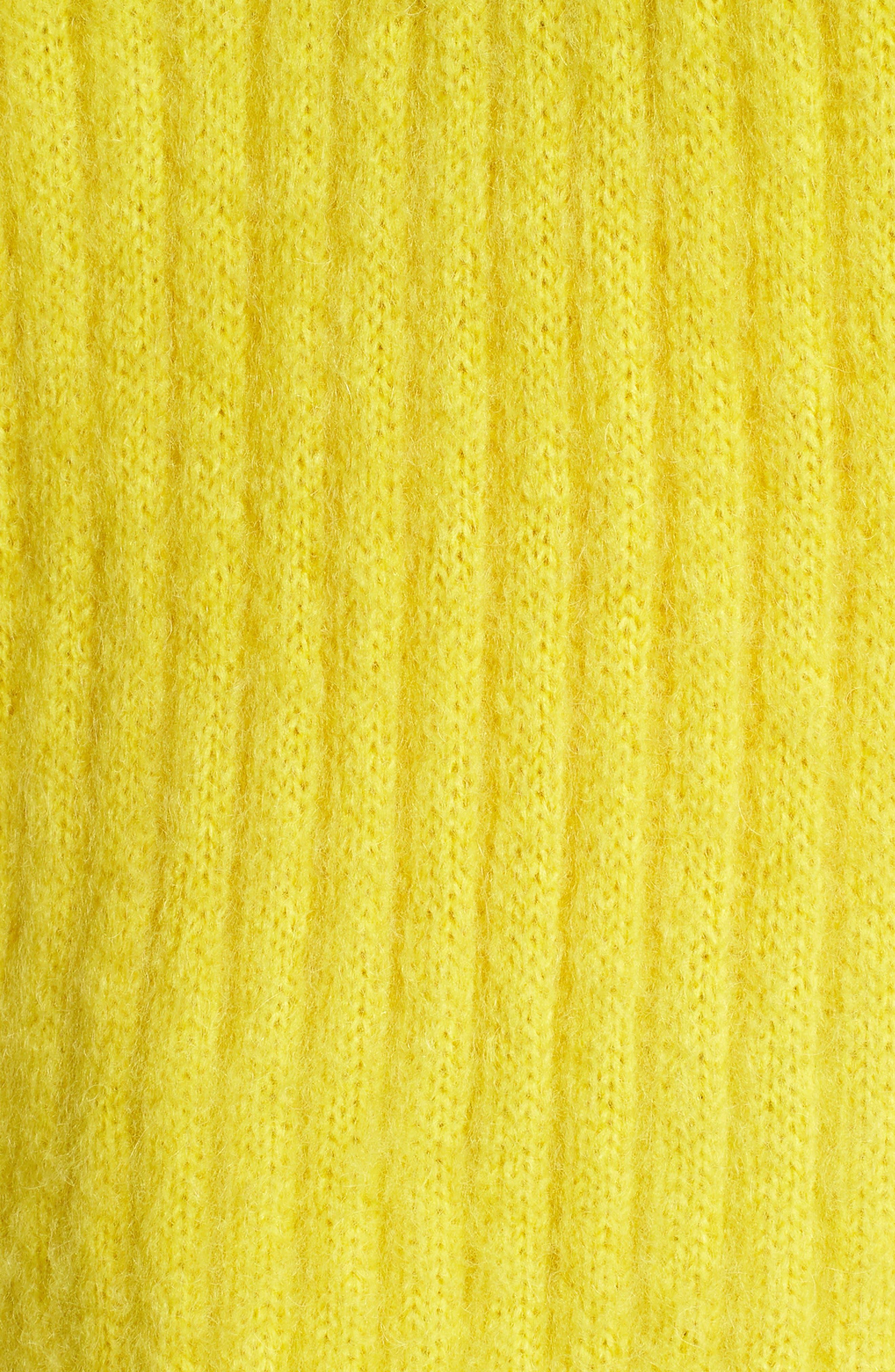 V-Neck Rib Sweater,                             Alternate thumbnail 6, color,                             700