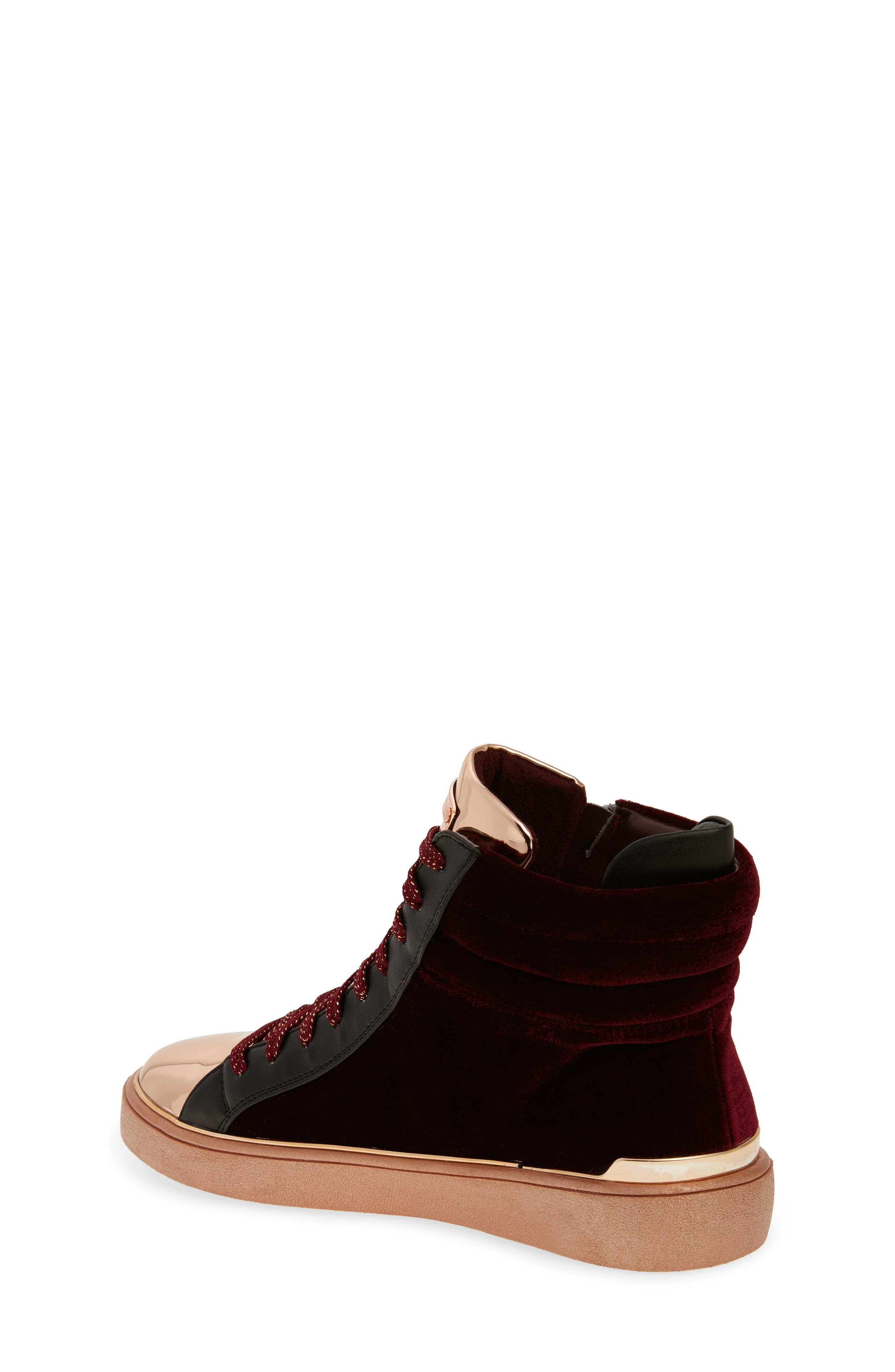 Ivy Blue High Top Sneaker,                             Alternate thumbnail 4, color,