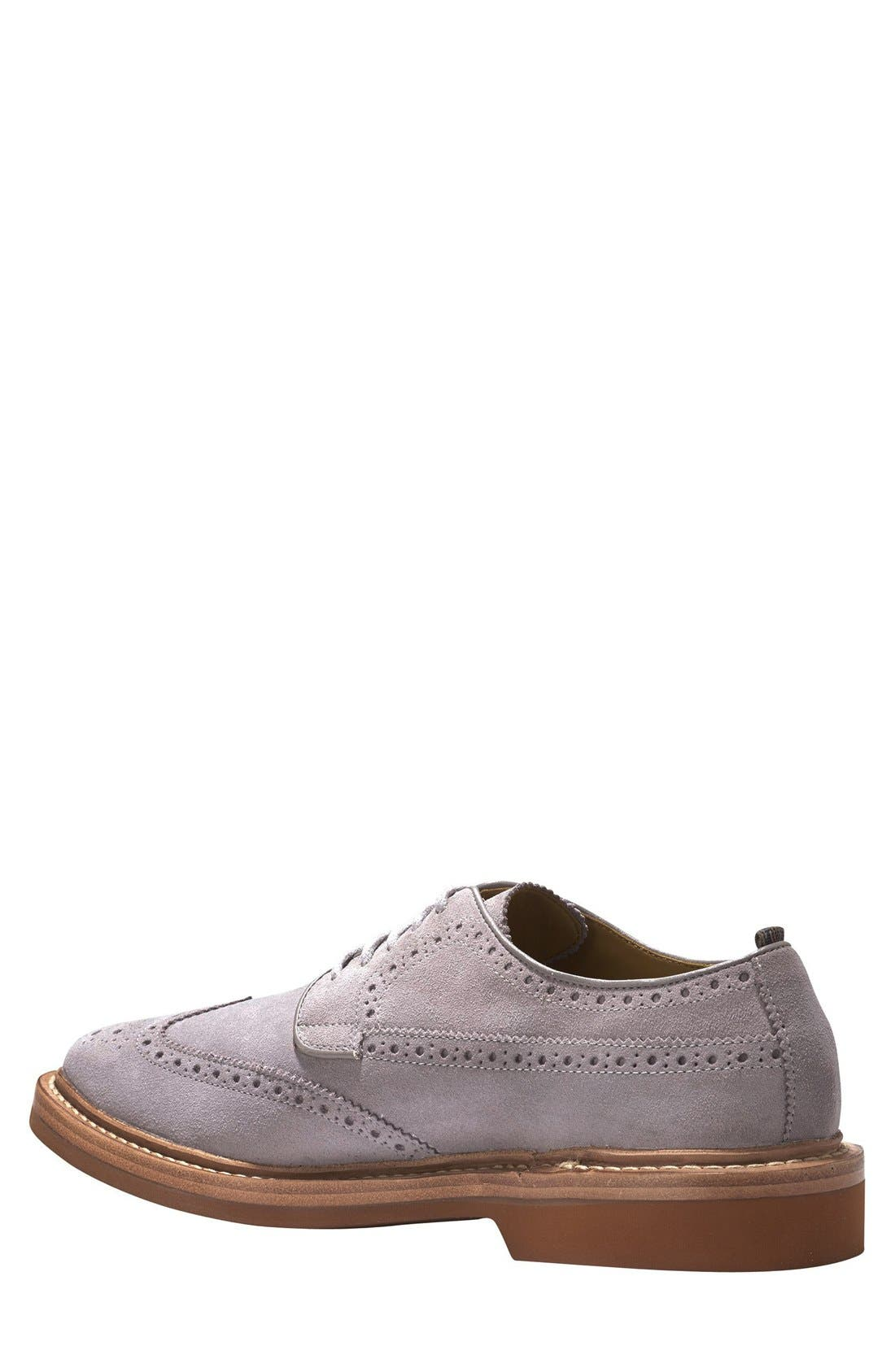 COLE HAAN & TODD SNYDER,                             'Hammond' Wingtip,                             Alternate thumbnail 4, color,                             025