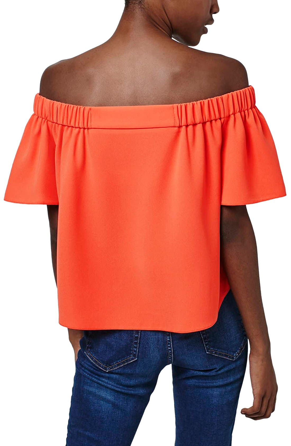 'Livi' Off the Shoulder Top,                             Alternate thumbnail 19, color,