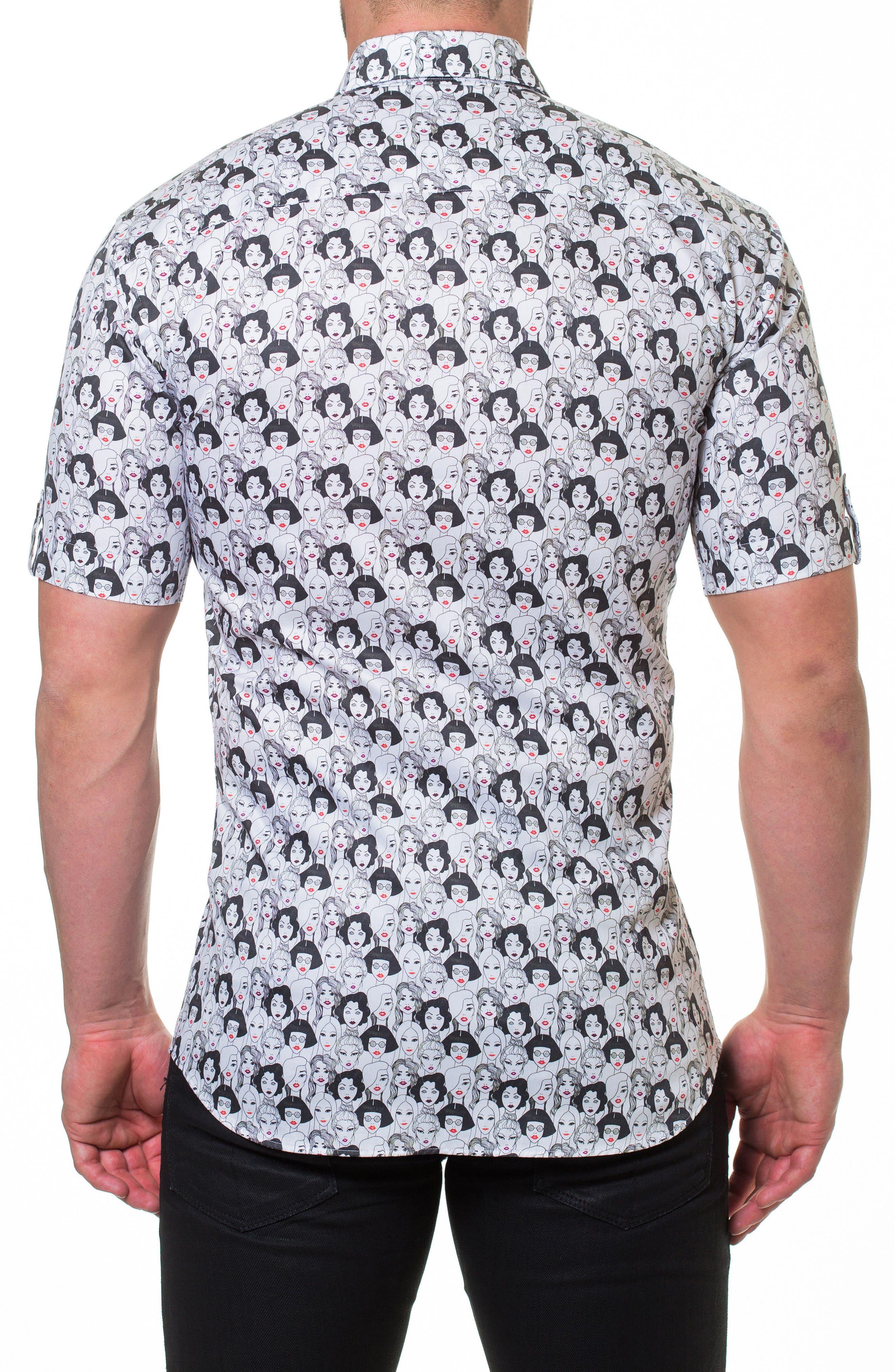 Fresh Runway Slim Fit Sport Shirt,                             Alternate thumbnail 2, color,                             030