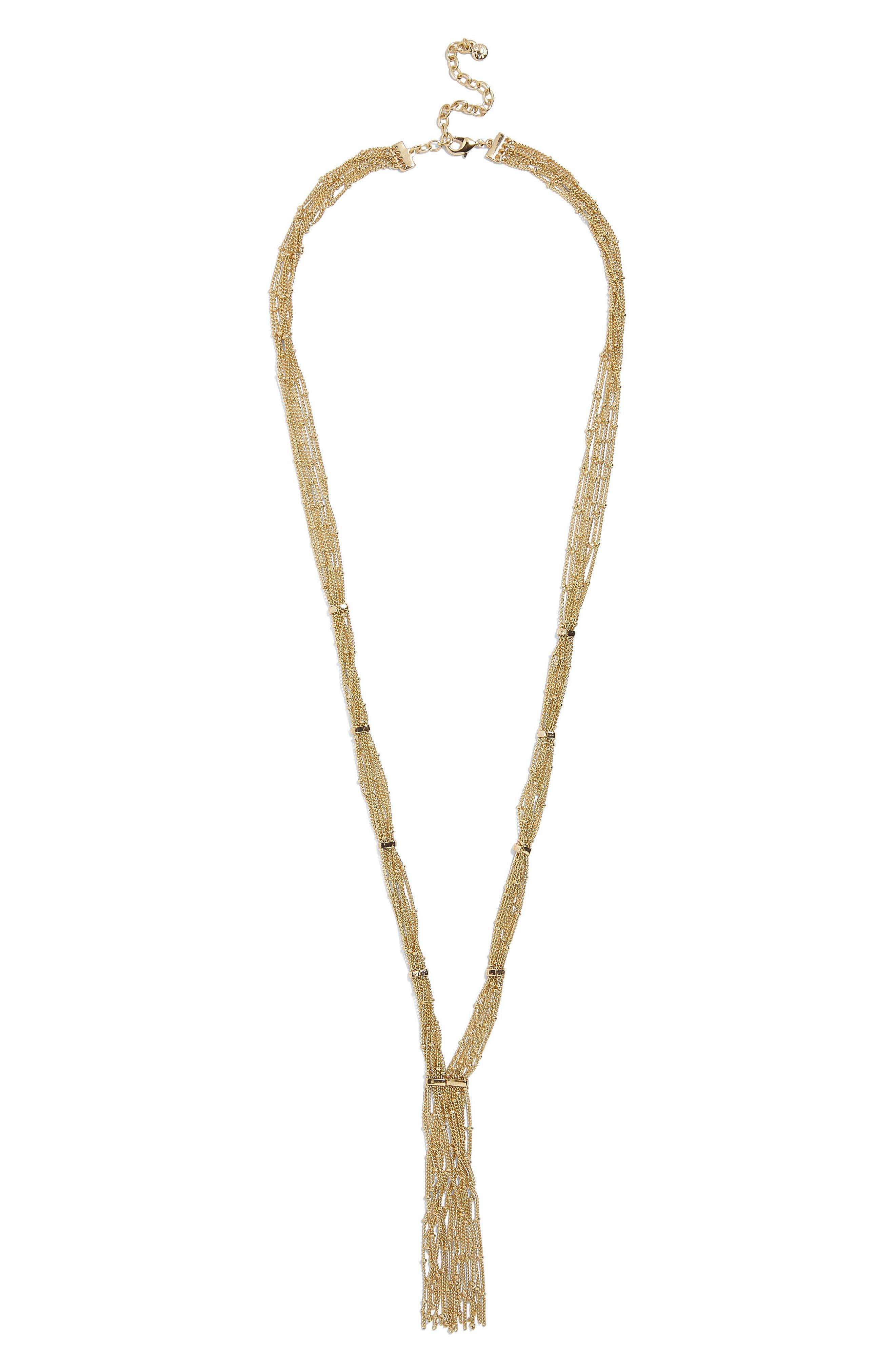 Pavanne Chain Y-Necklace,                             Alternate thumbnail 2, color,                             714