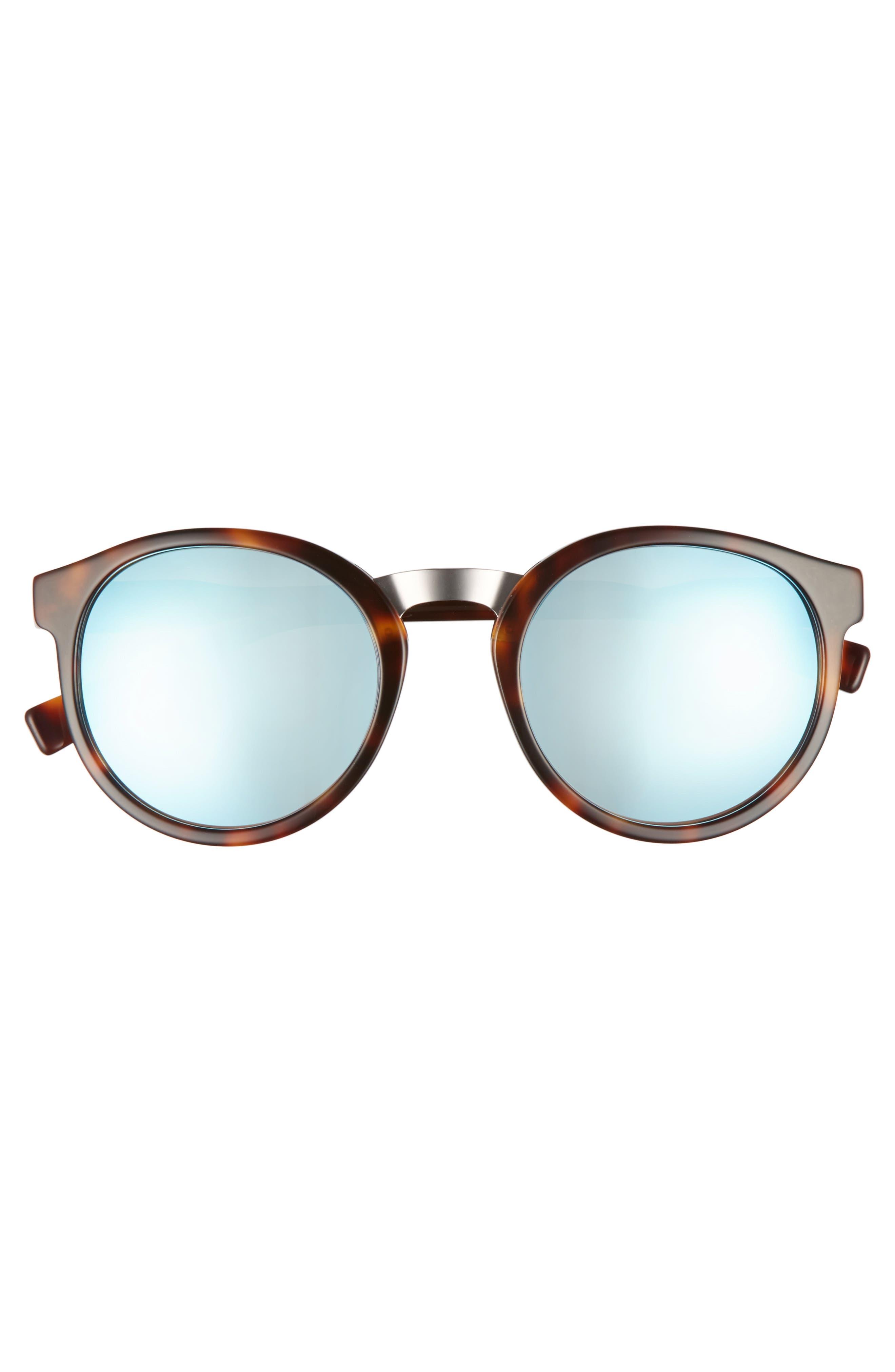53mm Round Sunglasses,                             Alternate thumbnail 10, color,