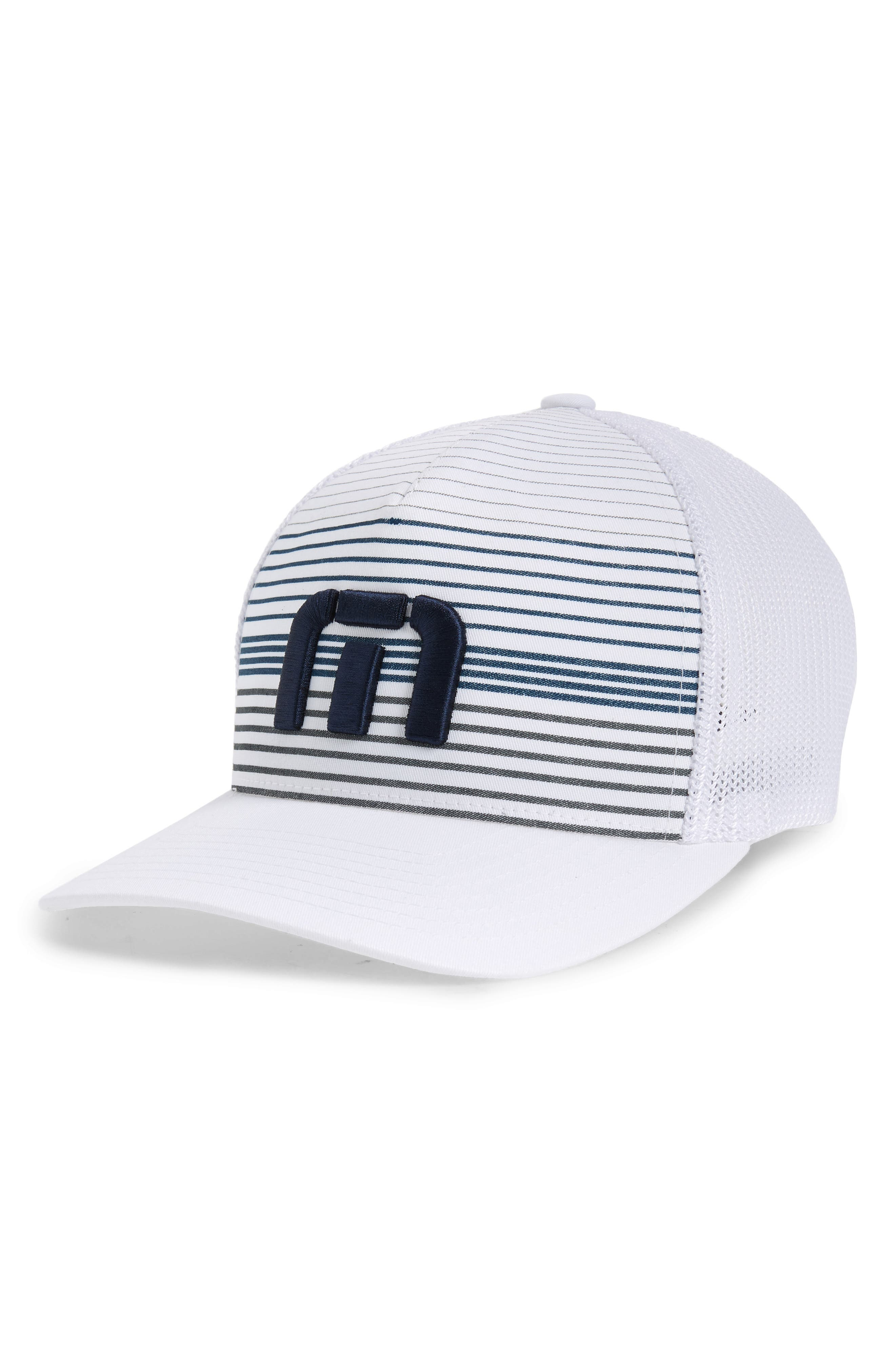 The Executive Trucker Hat,                         Main,                         color, WHITE