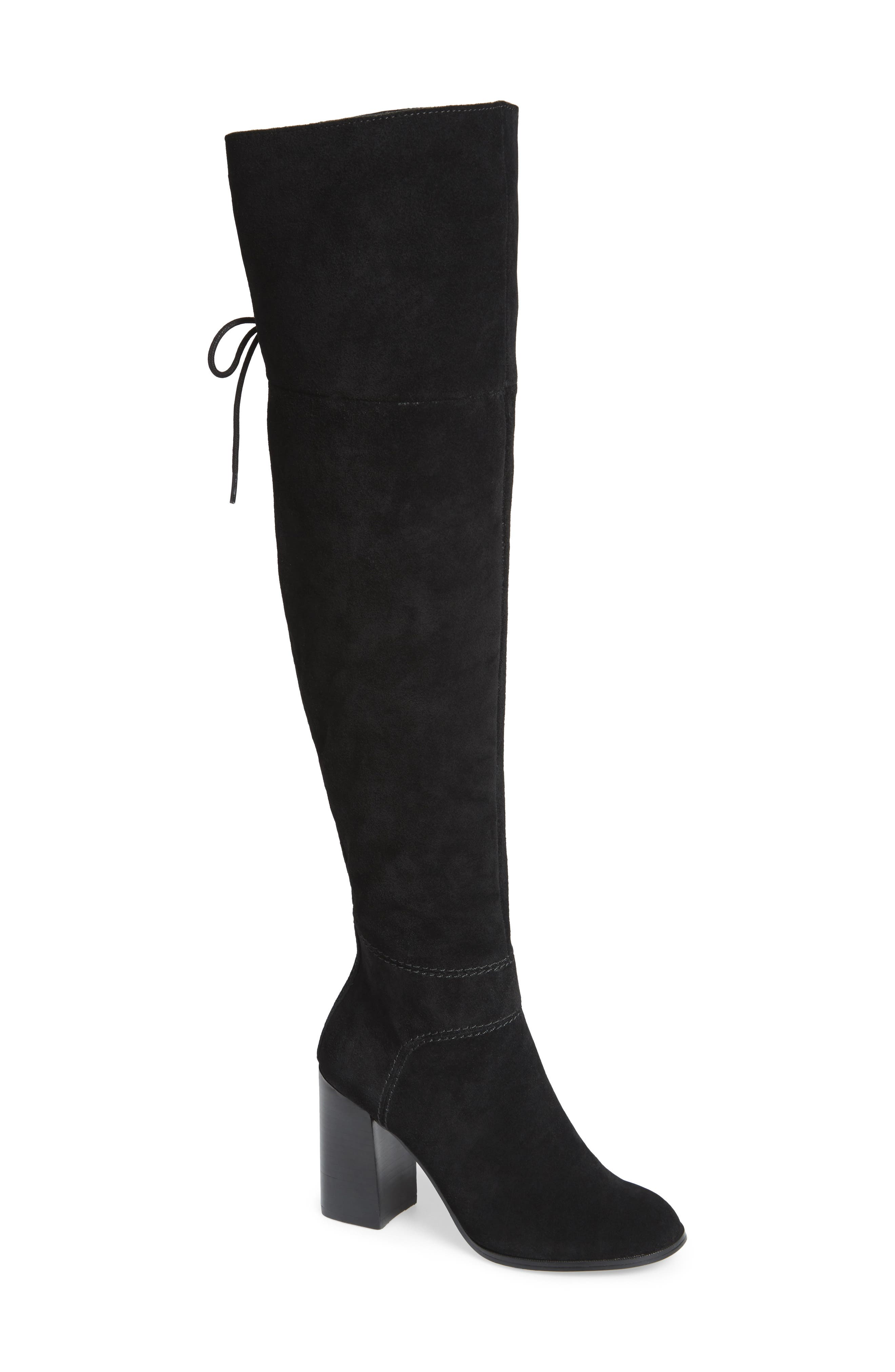 Novela Cuffable Over the Knee Boot,                             Main thumbnail 1, color,