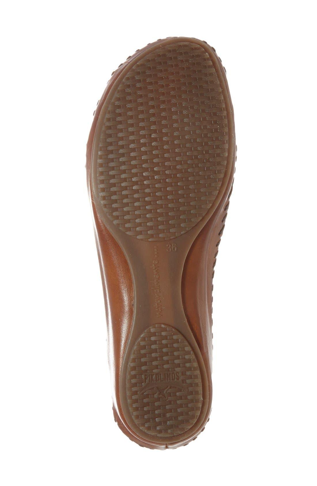 'P. Vallarta 655' T-Strap Sandal,                             Alternate thumbnail 4, color,                             100