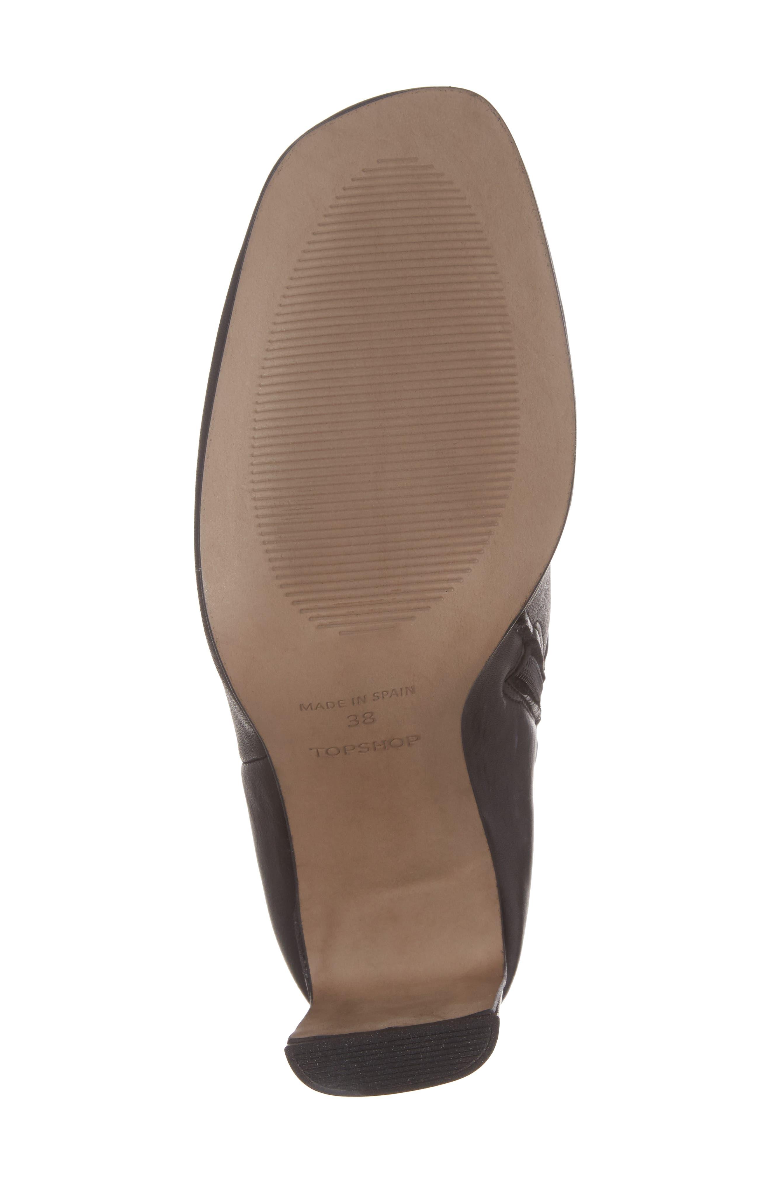 Honeydew Flat Heel Bootie,                             Alternate thumbnail 6, color,                             001