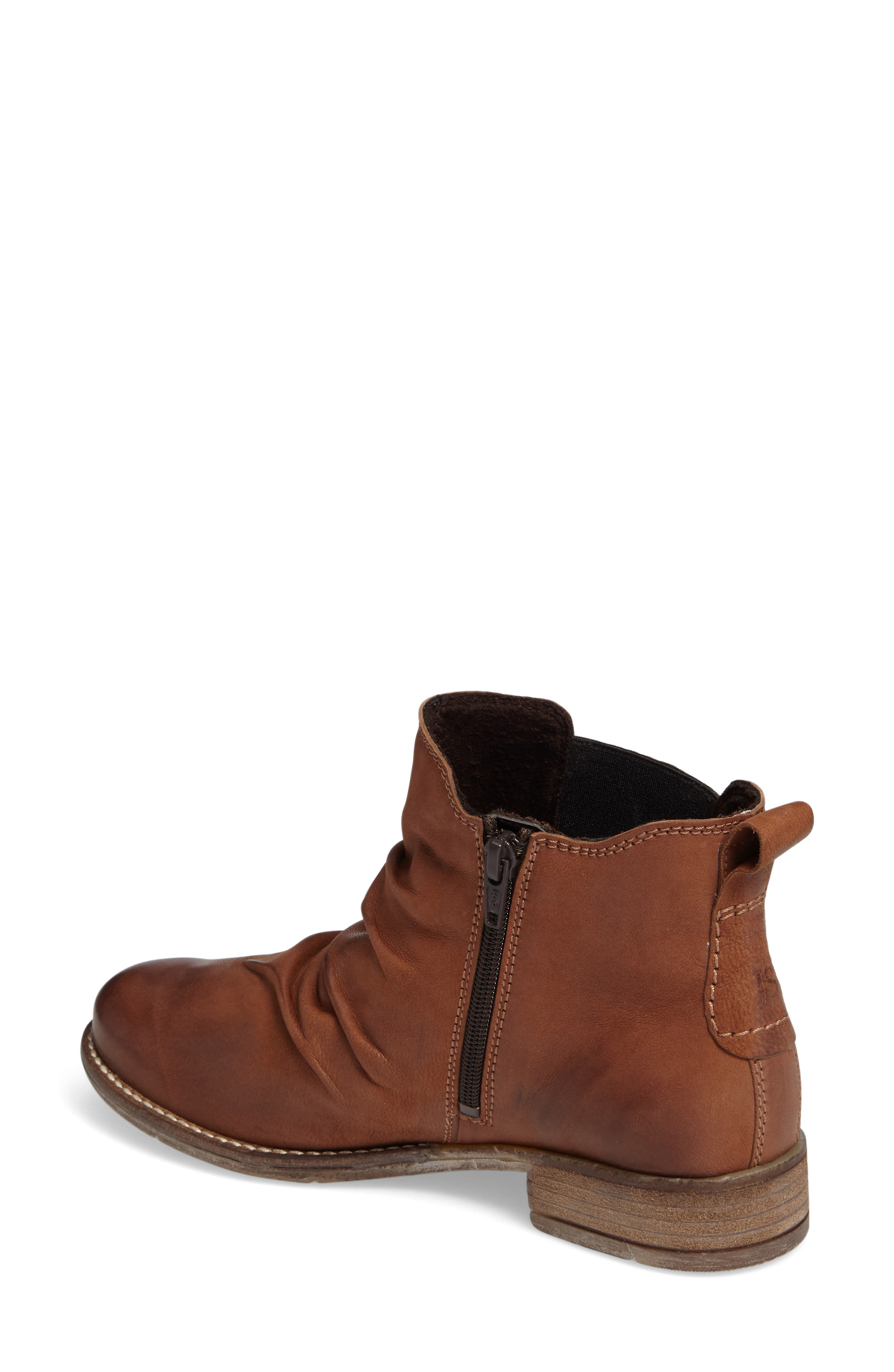 Sienna 59 Slouchy Chelsea Bootie,                             Alternate thumbnail 4, color,