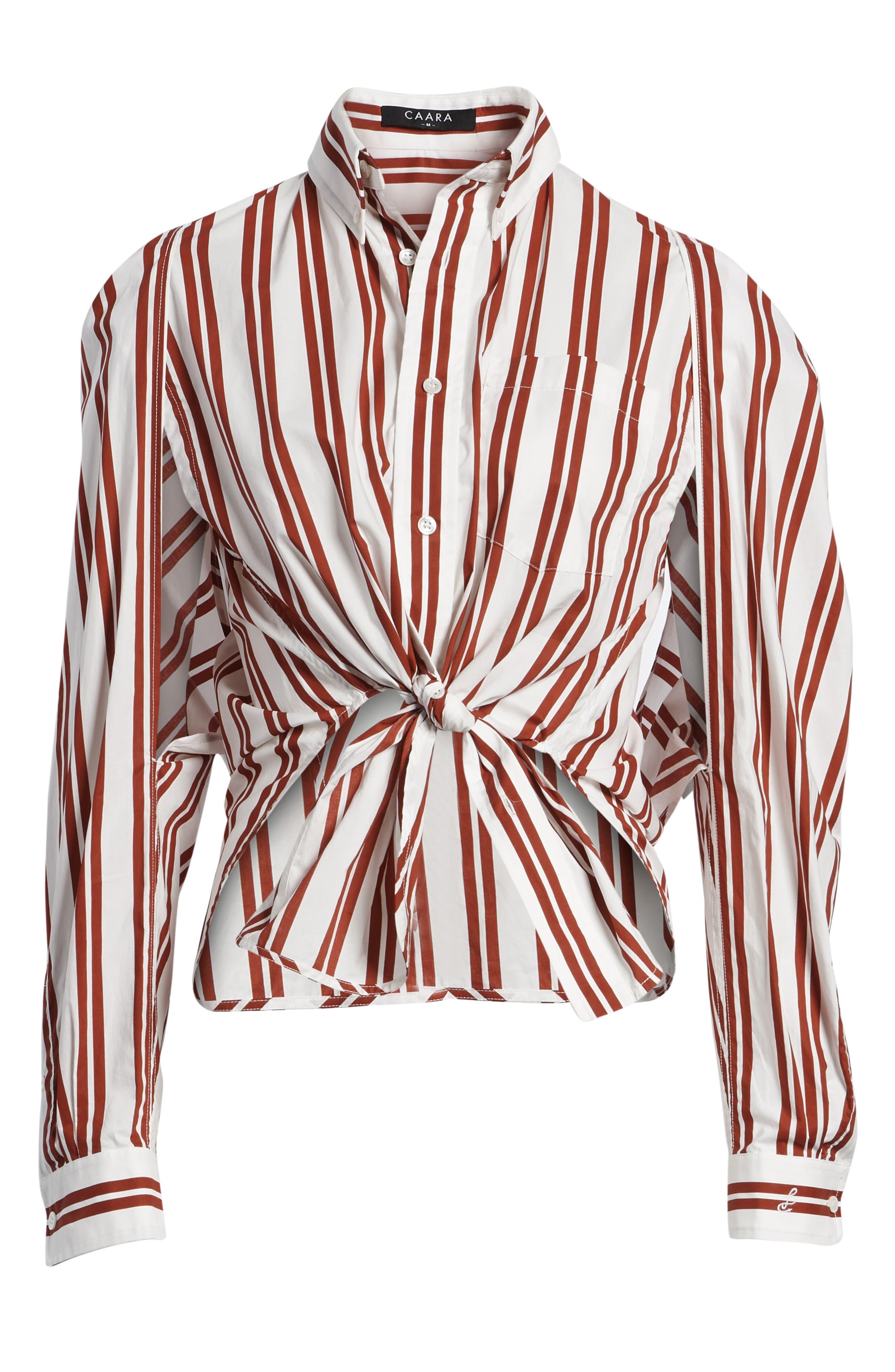 Hug Me Tie Hem Shirt,                             Alternate thumbnail 7, color,                             640