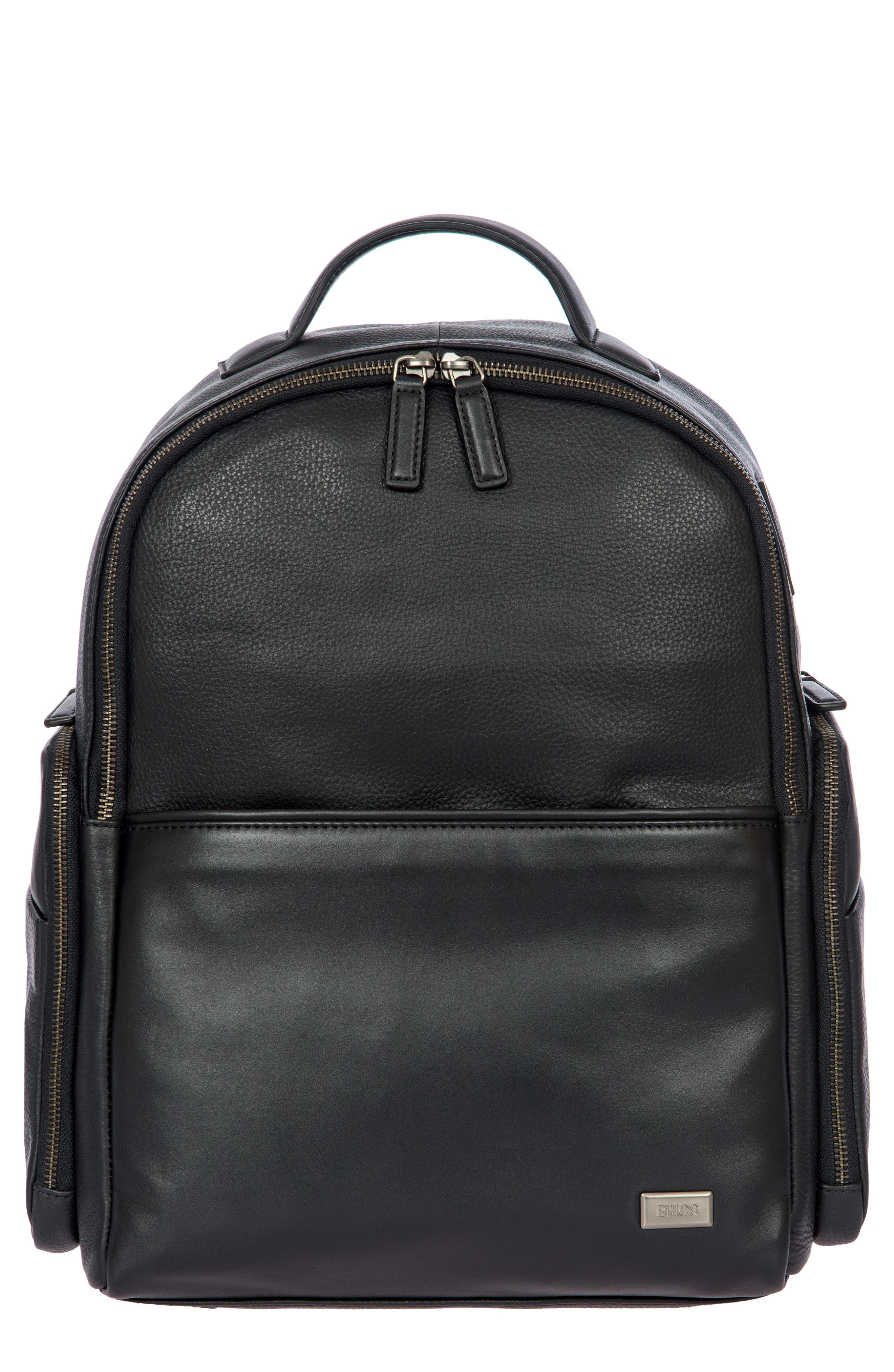 Torino Medium Business Backpack, Main, color, BLACK