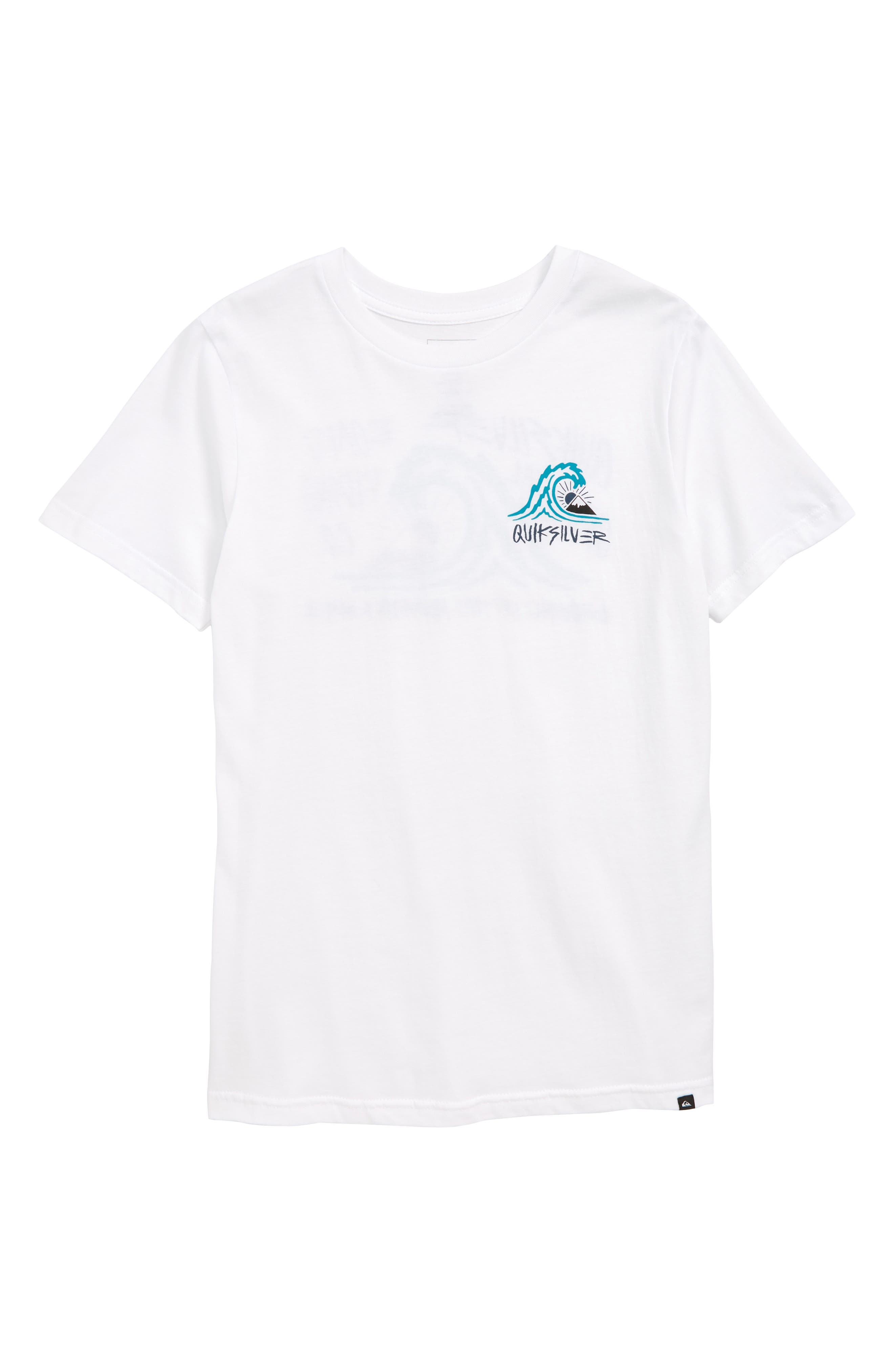 Quik Start Graphic T-Shirt,                         Main,                         color, WHITE