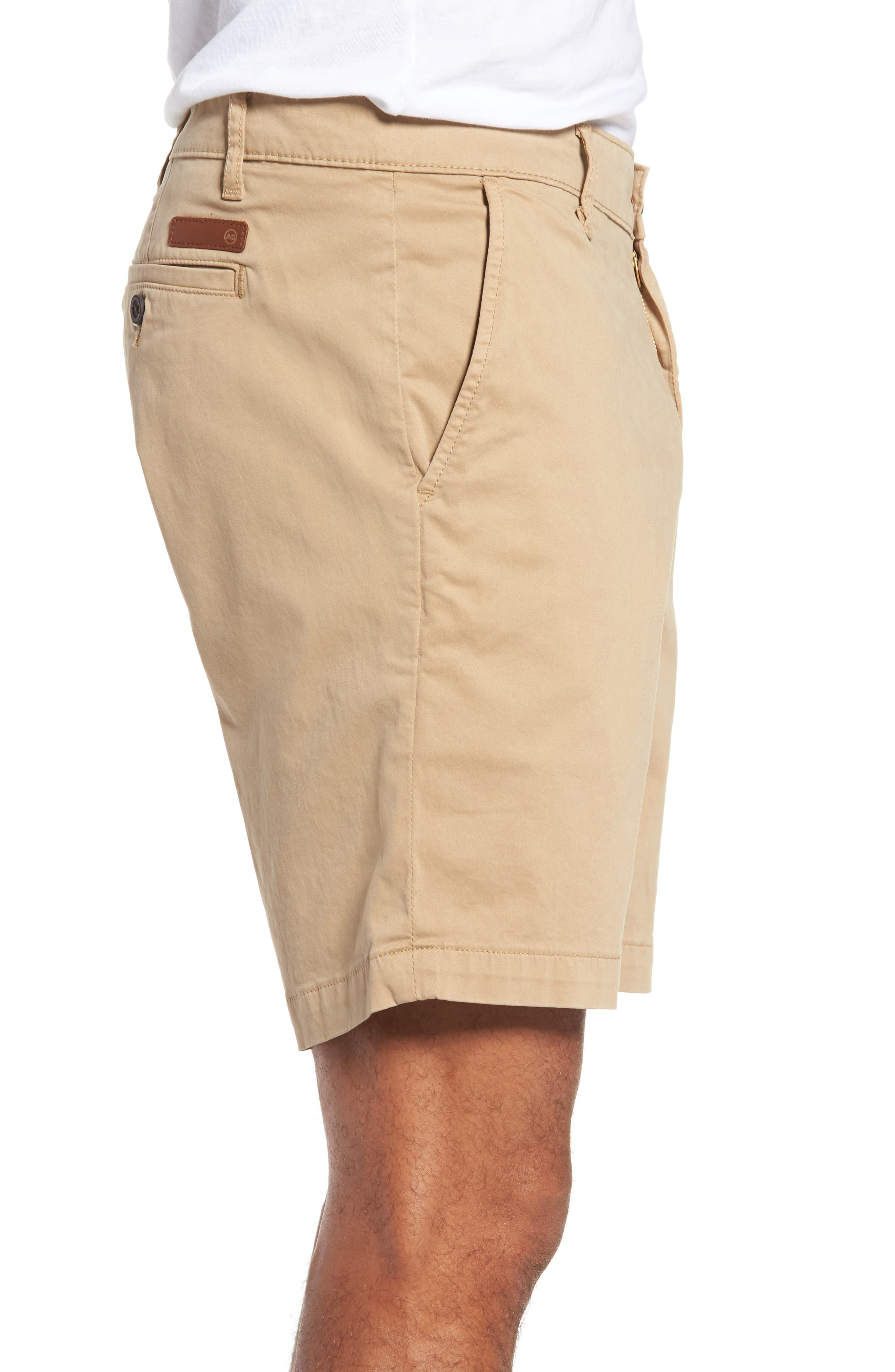 Wanderer Modern Slim Fit Shorts,                             Alternate thumbnail 3, color,                             244