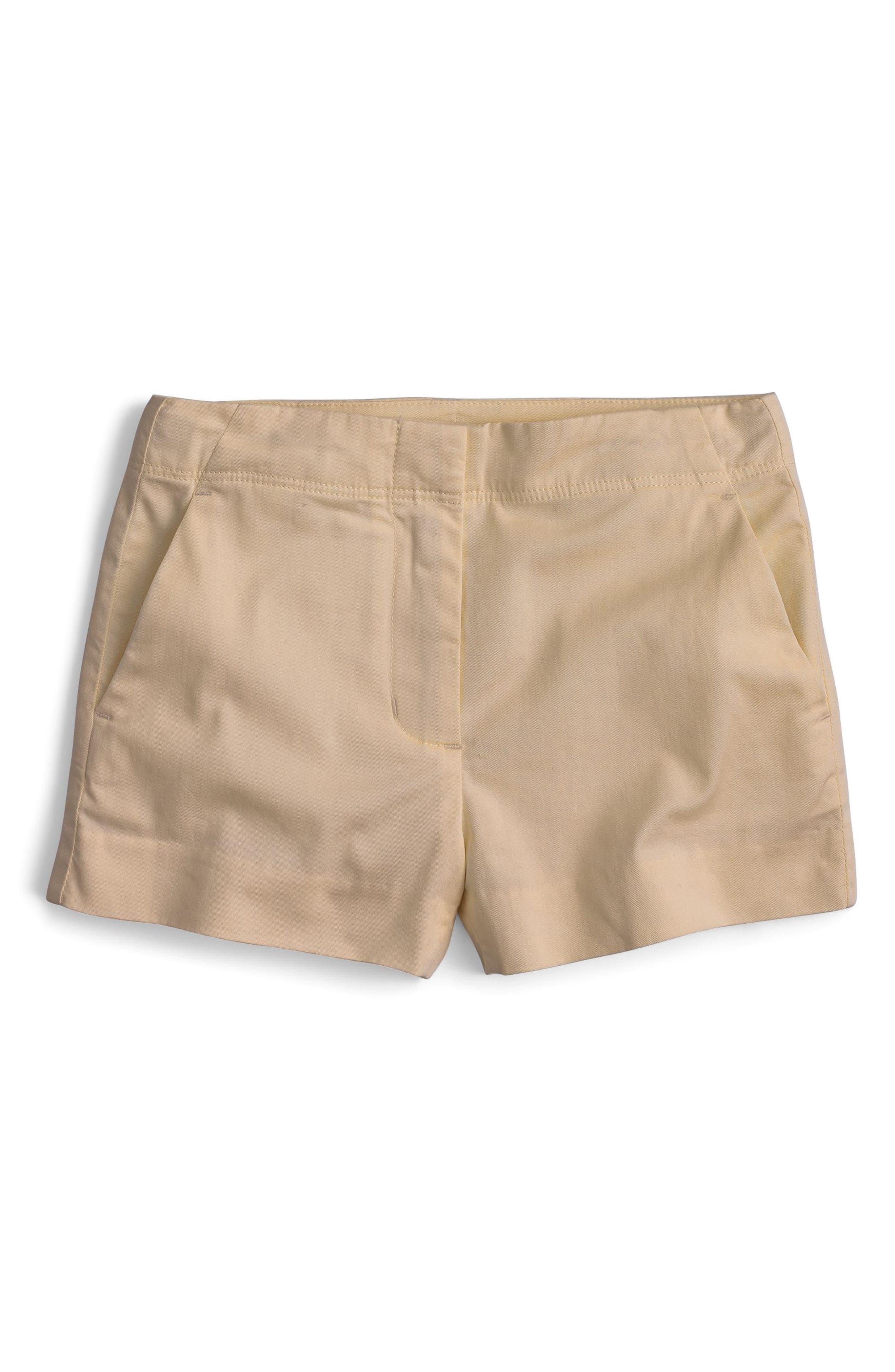 Frankie Stretch Cotton Shorts,                         Main,                         color, 252