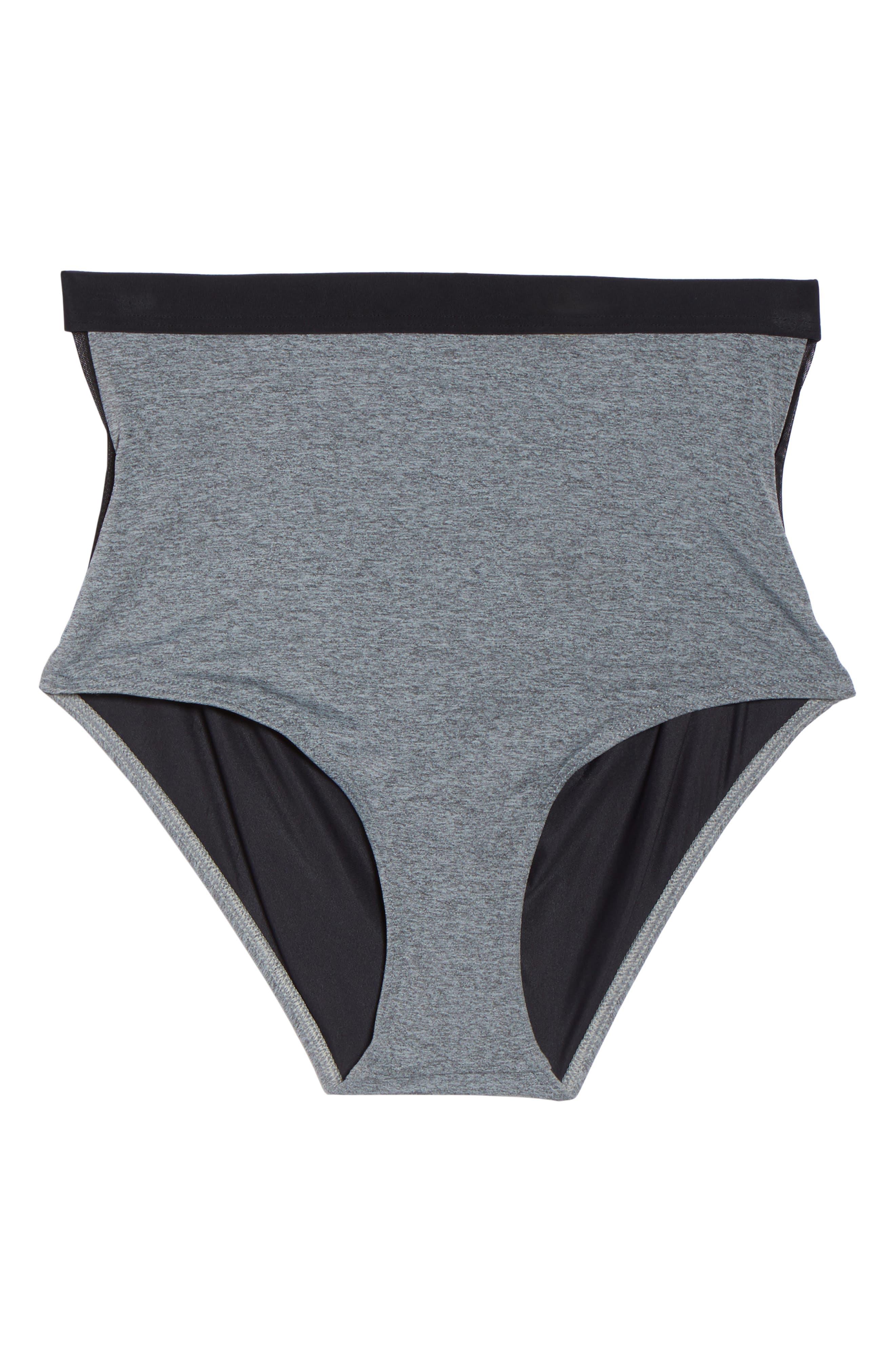 Yoko High Waist Bikini Bottoms,                             Alternate thumbnail 6, color,                             020
