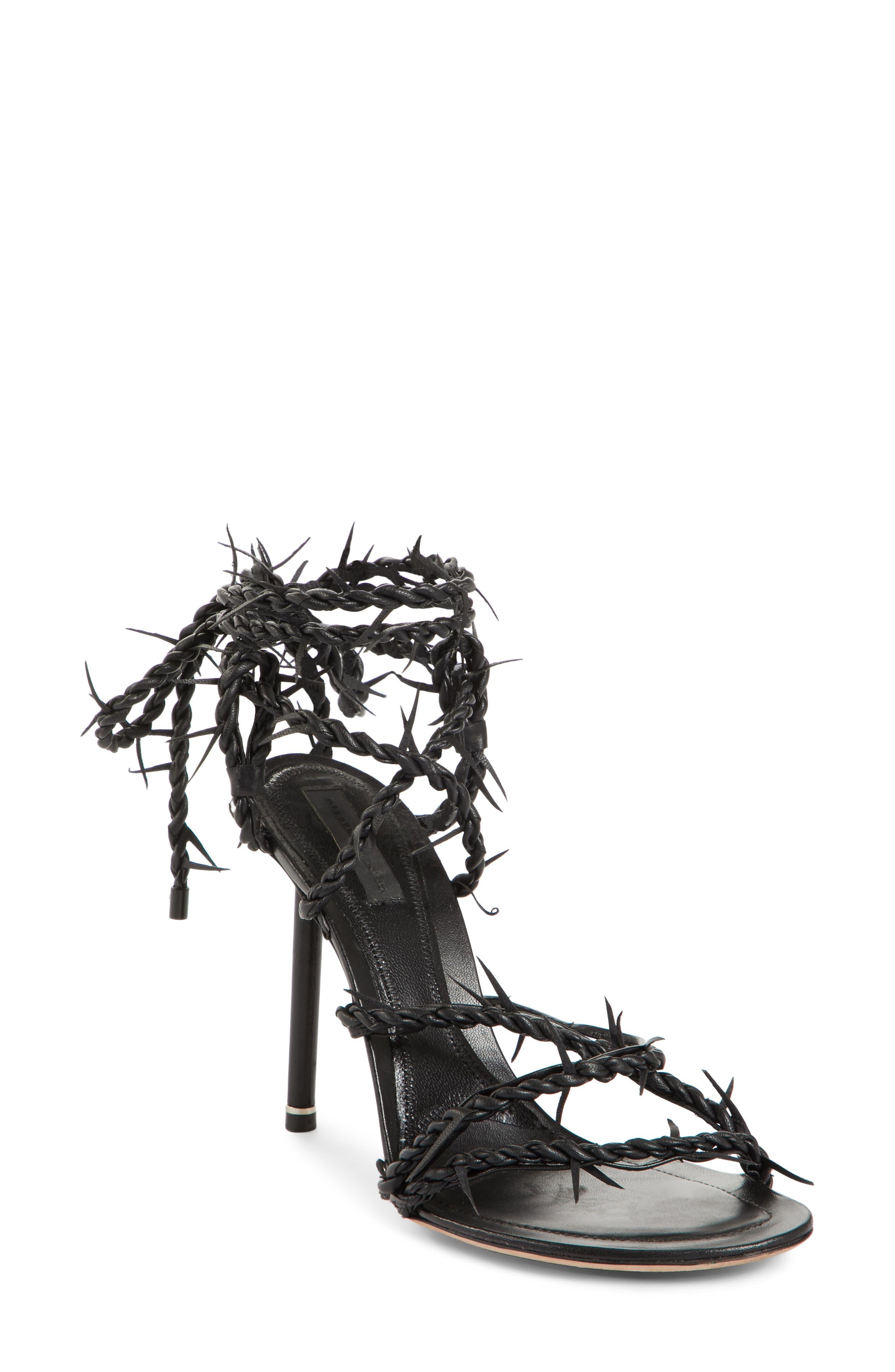 Lexie Cabel Wire Sandal,                             Main thumbnail 1, color,                             001