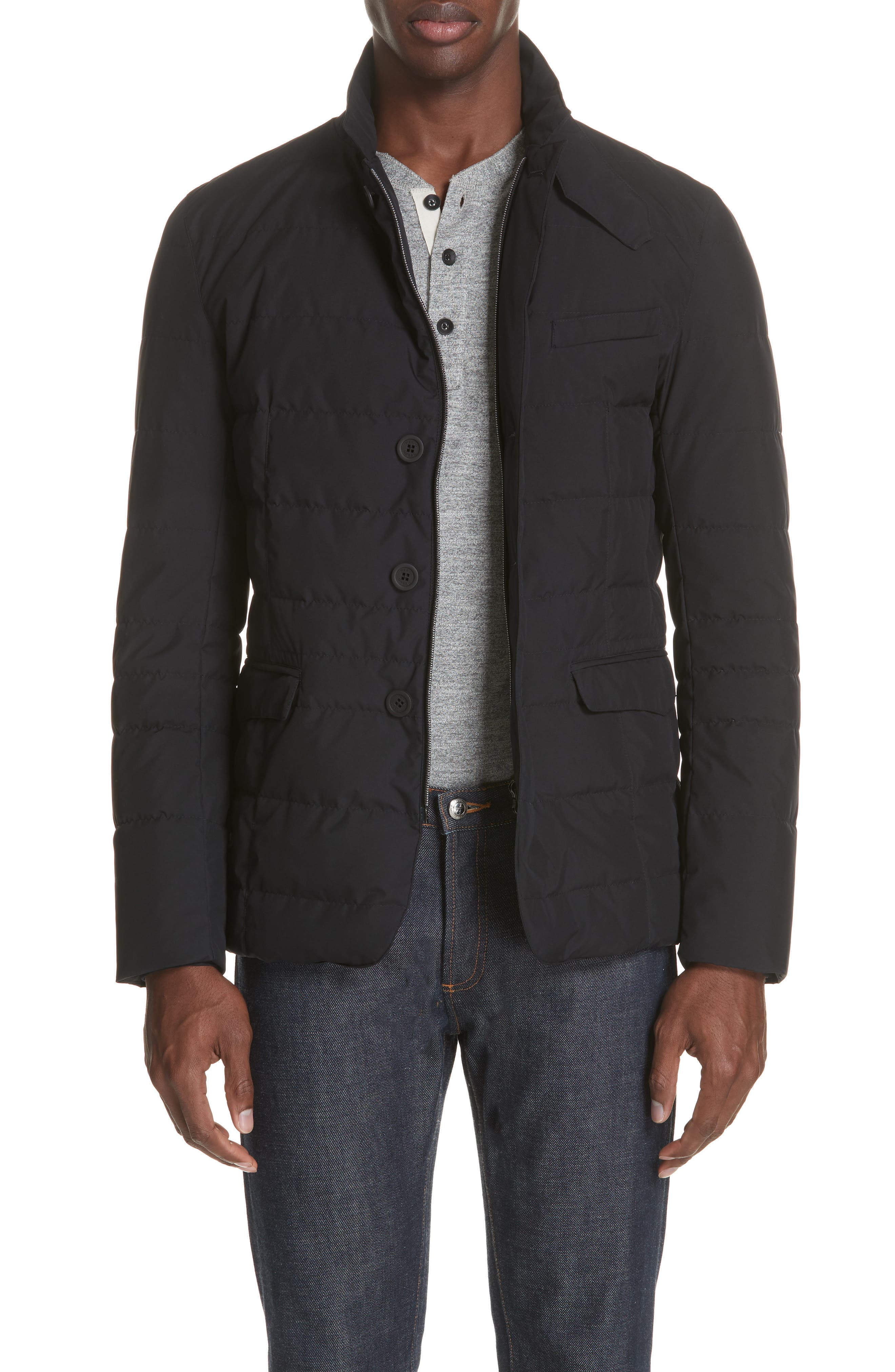 Gore-Tex<sup>®</sup> Windstopper Down Jacket,                         Main,                         color, 001