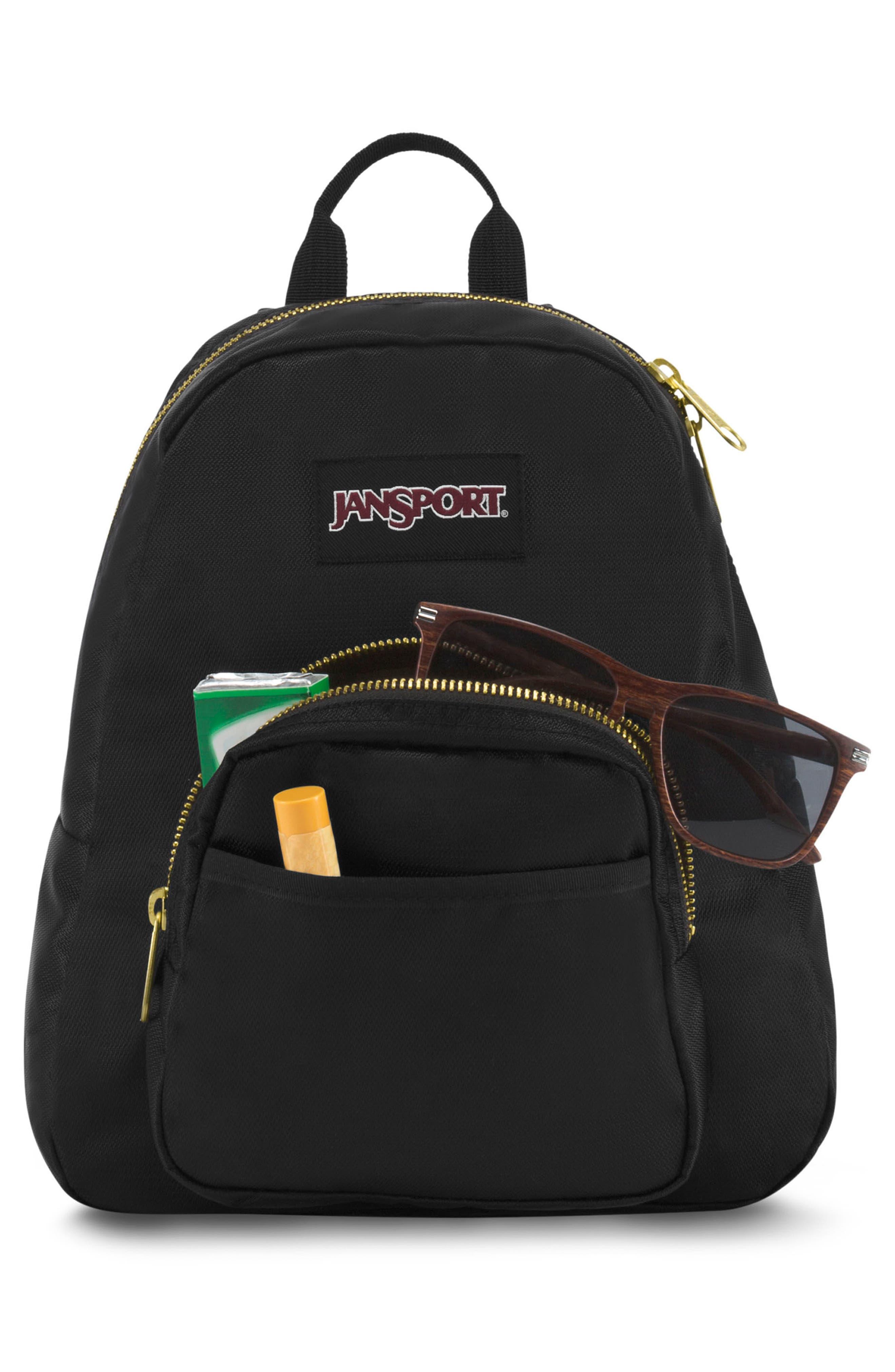 Half Pint FX Backpack,                             Alternate thumbnail 6, color,                             BLACK GOLD
