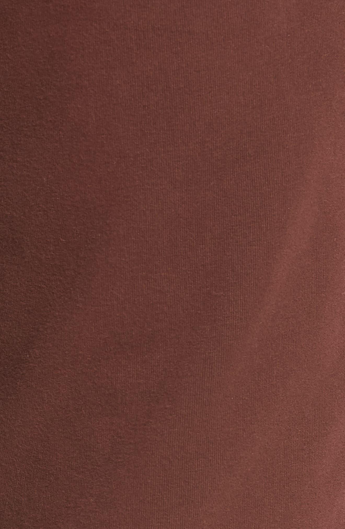 Slim Fit Sweatpants,                             Alternate thumbnail 5, color,                             WINE