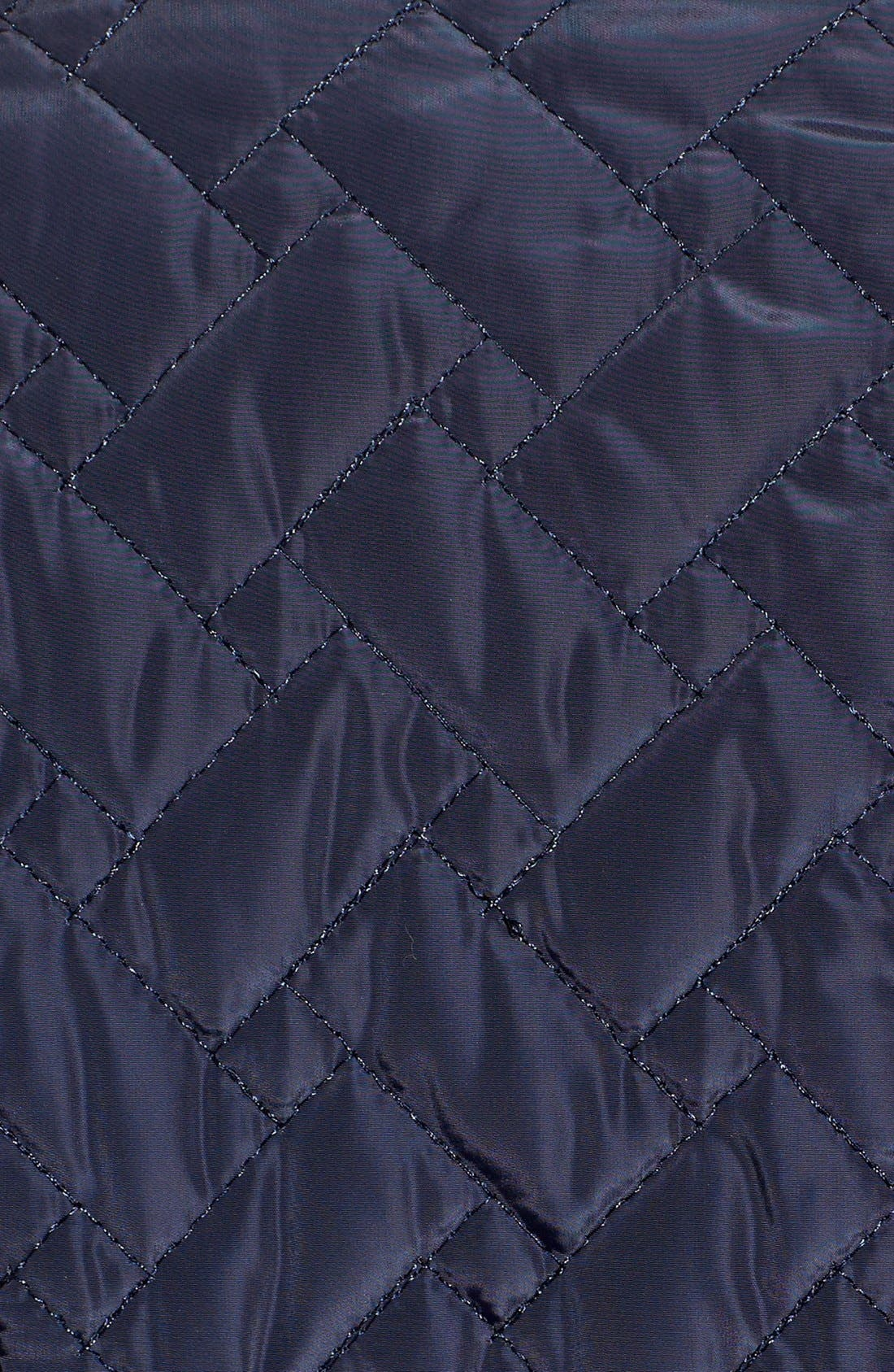 Belted Quilted Coat,                             Alternate thumbnail 23, color,