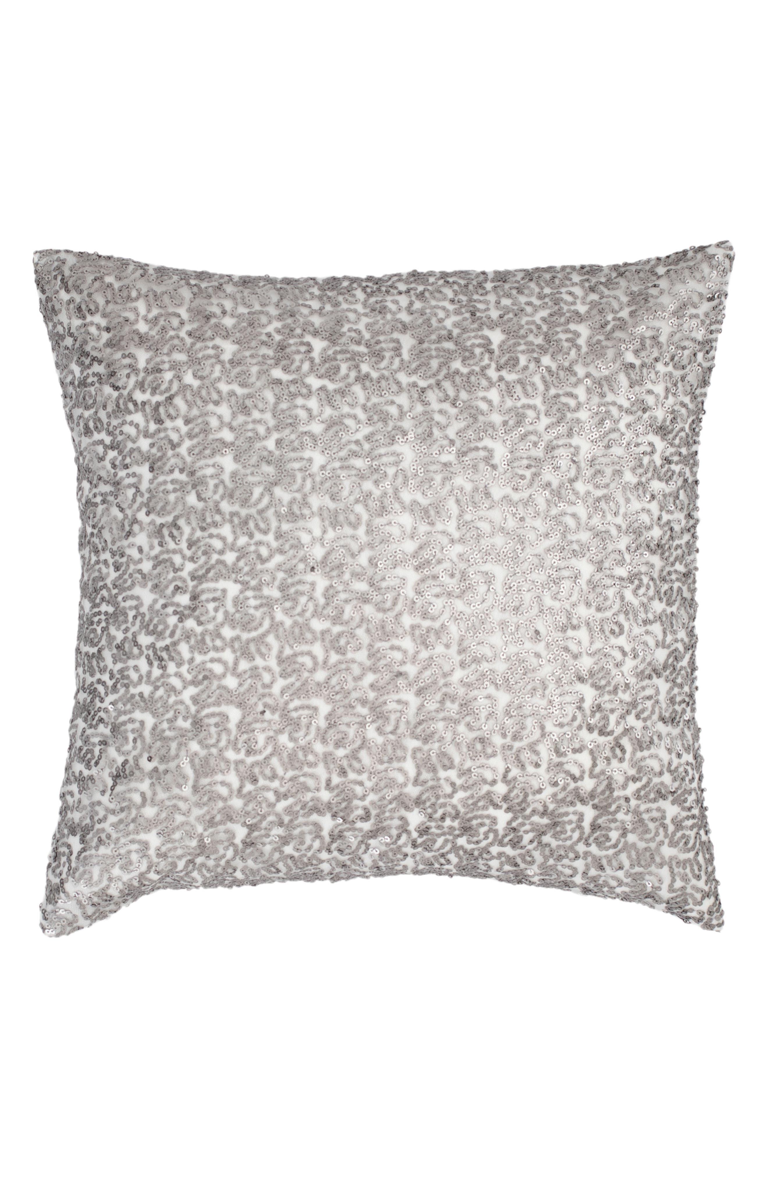 Glaze Sequin Accent Pillow,                             Main thumbnail 1, color,                             040