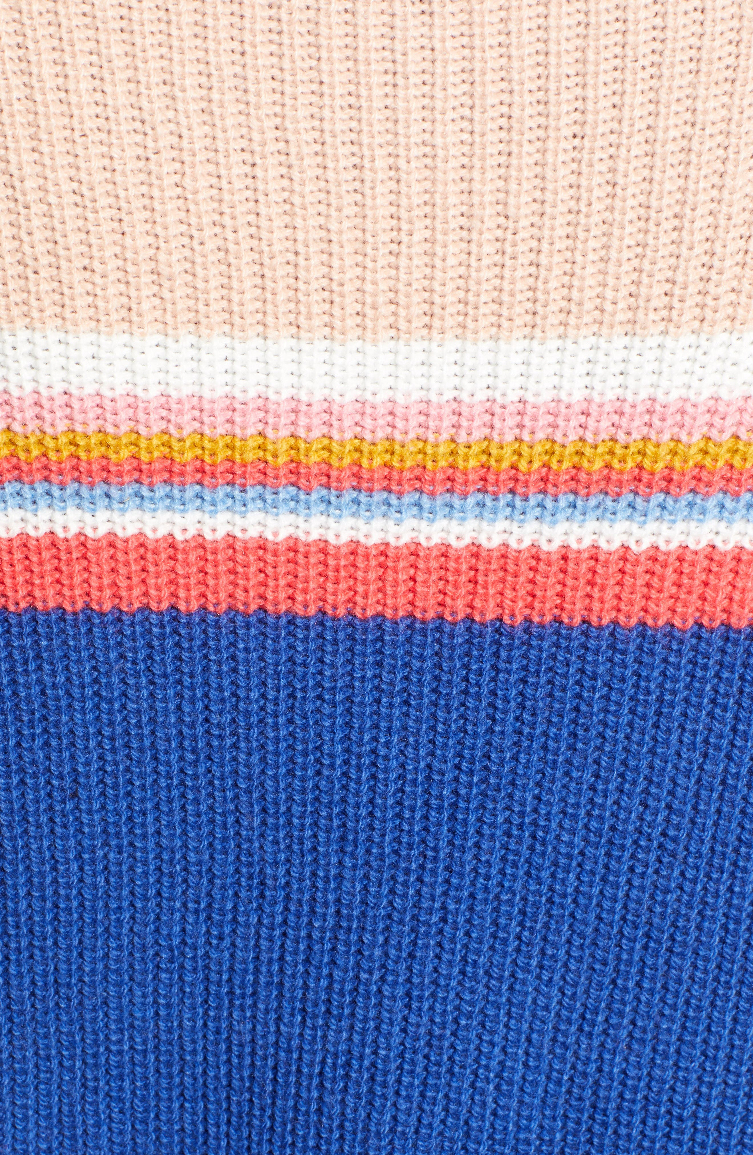 CASLON<SUP>®</SUP>,                             Shaker Stitch Sweater,                             Alternate thumbnail 5, color,                             401