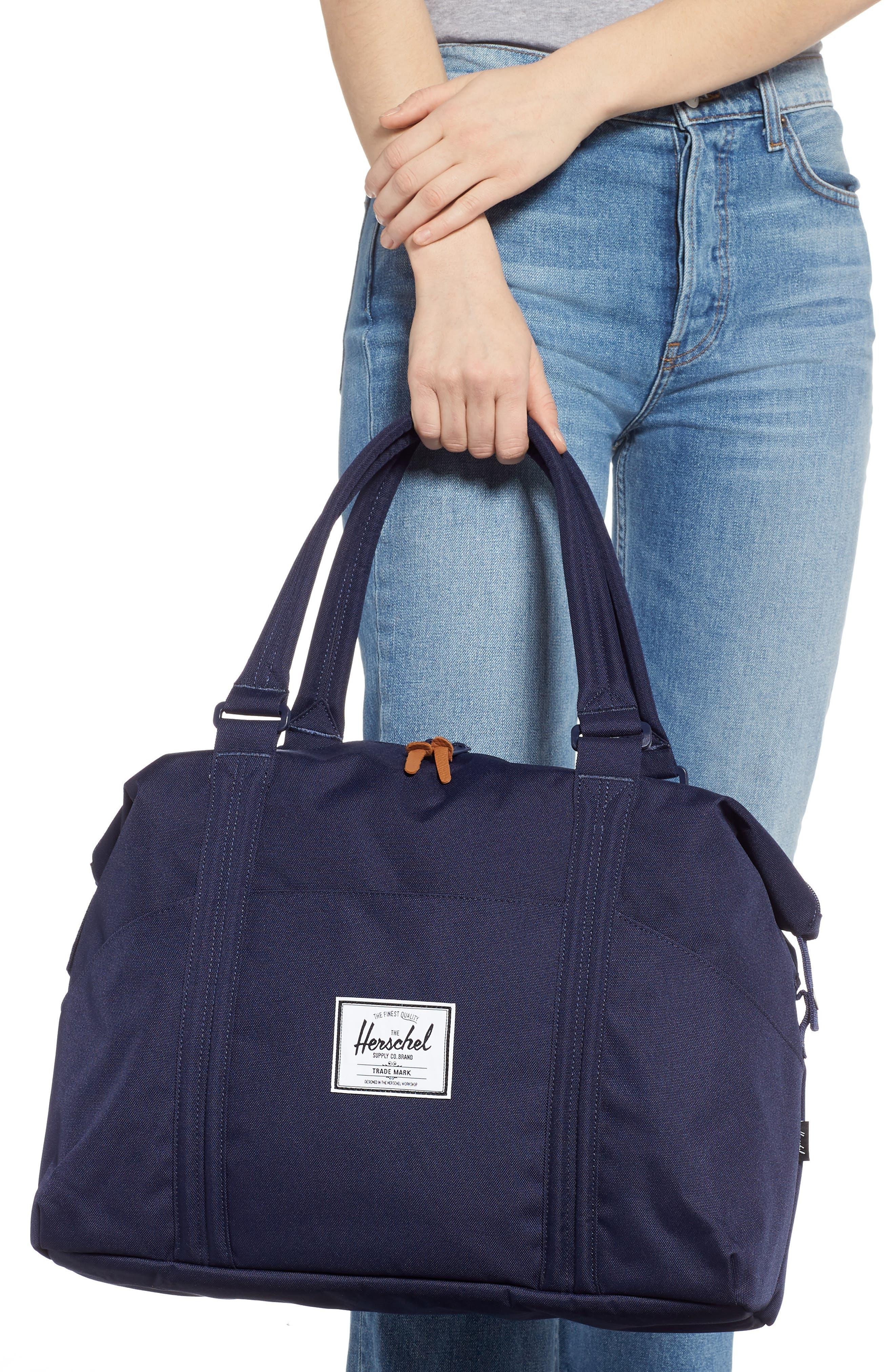 Strand Duffel Bag,                             Alternate thumbnail 2, color,                             PEACOAT