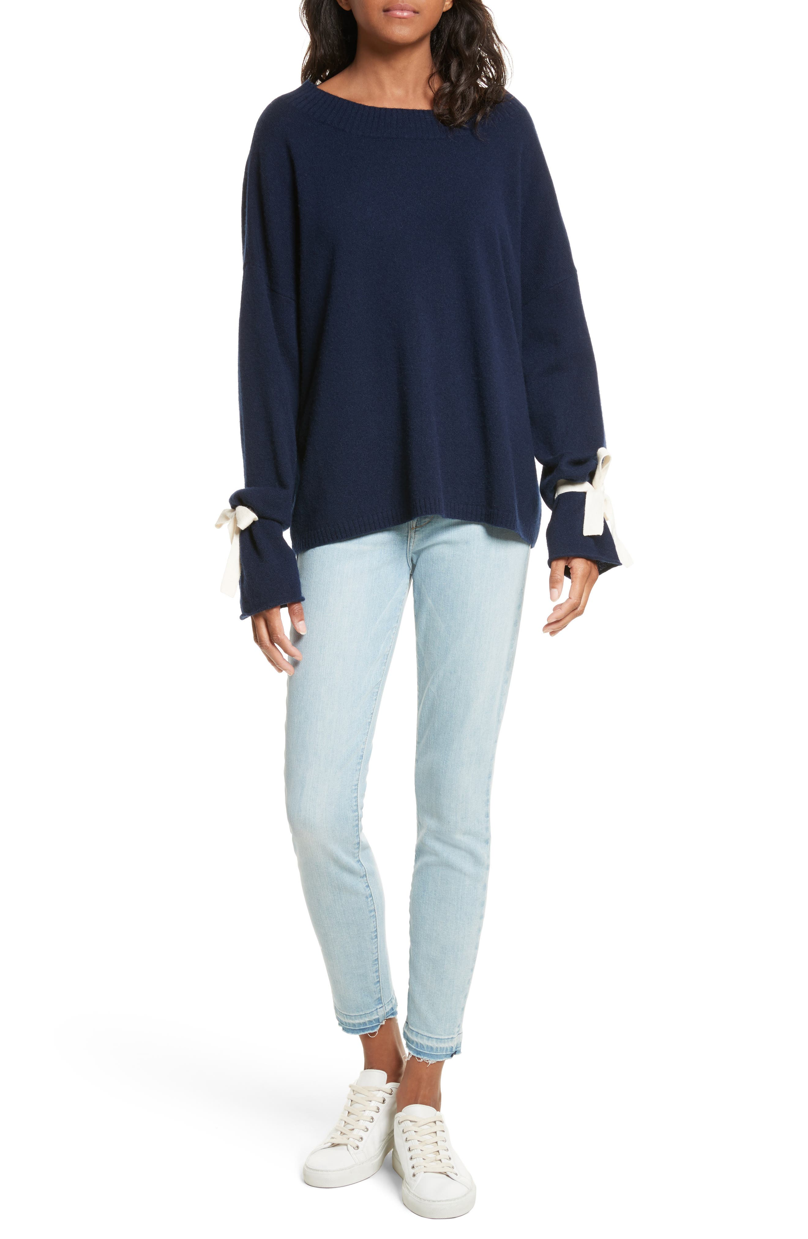 Le High Skinny Crop Jeans,                             Alternate thumbnail 7, color,
