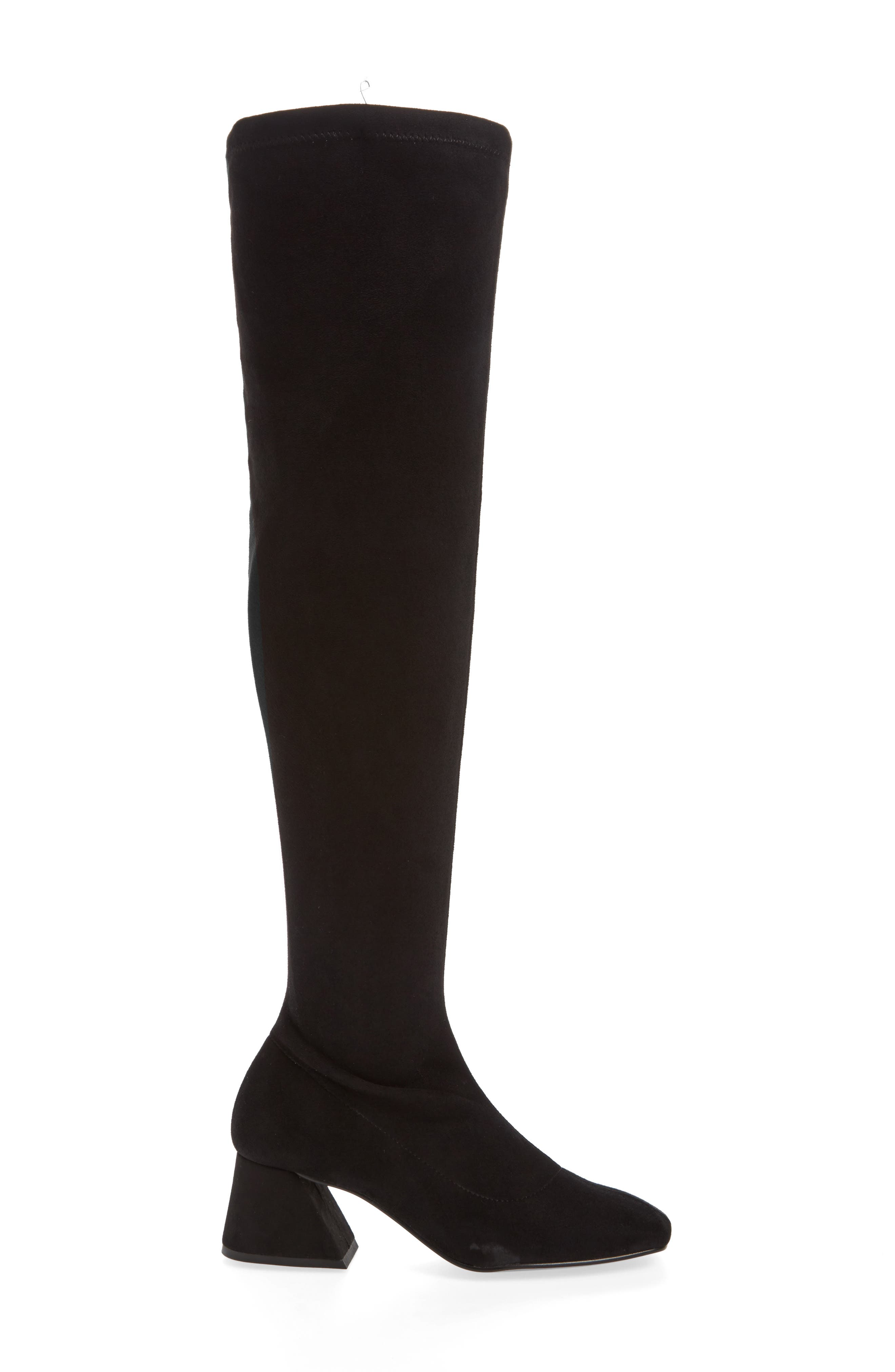 Cappuccino Over the Knee Boot,                             Alternate thumbnail 3, color,                             001
