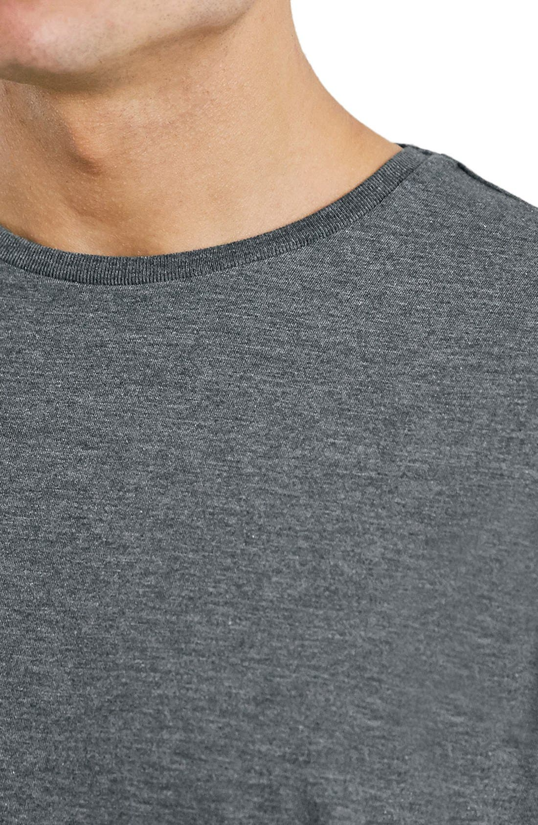 Slim Fit Crewneck T-Shirt,                             Alternate thumbnail 394, color,